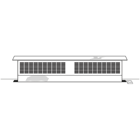 "Model: UVB30SKSS | GE Profile Universal 30"" Telescopic Downdraft System"