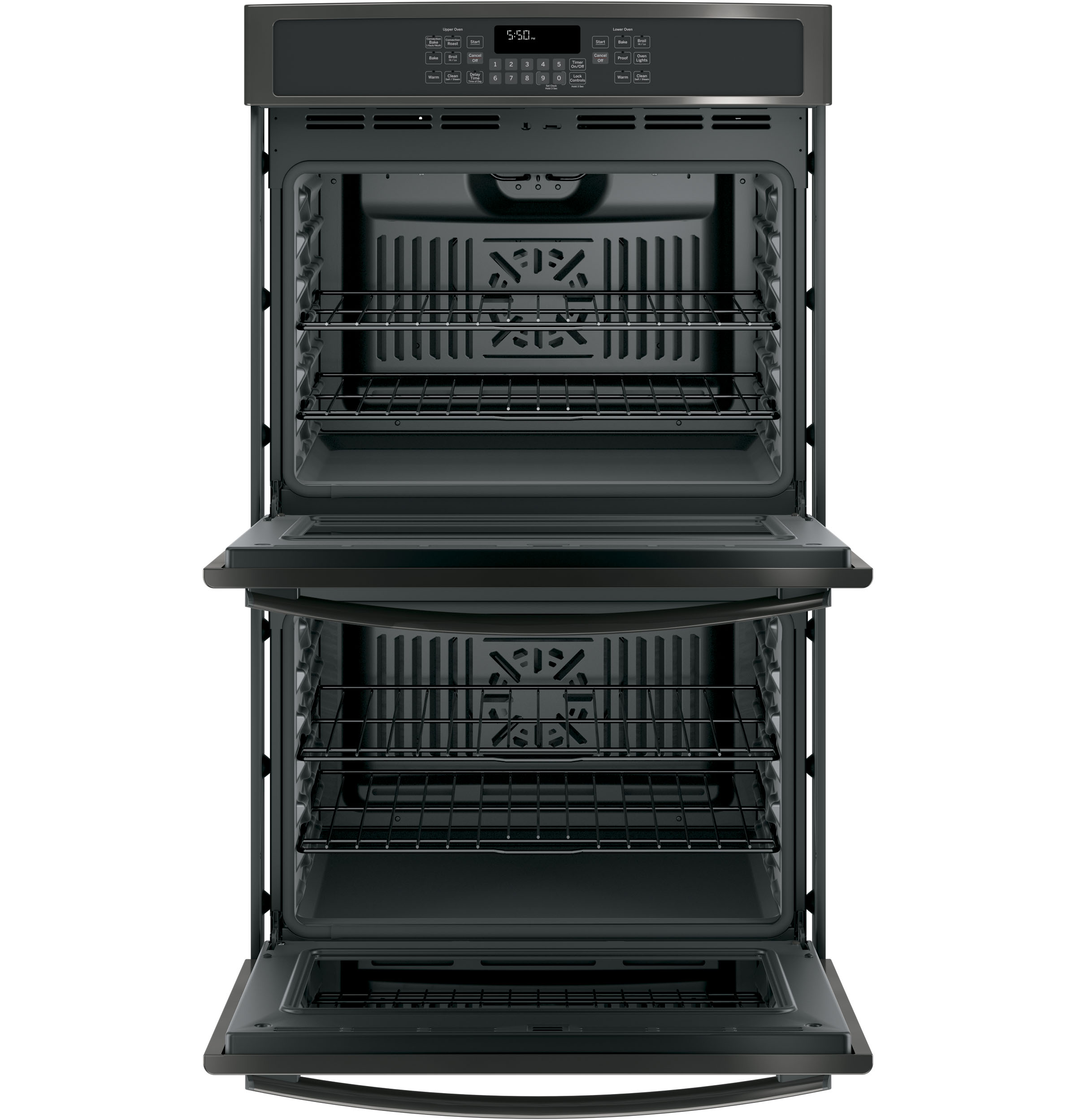 "Model: JT5500BLTS | GE GE® 30"" Built-In Double Wall Oven with Convection"
