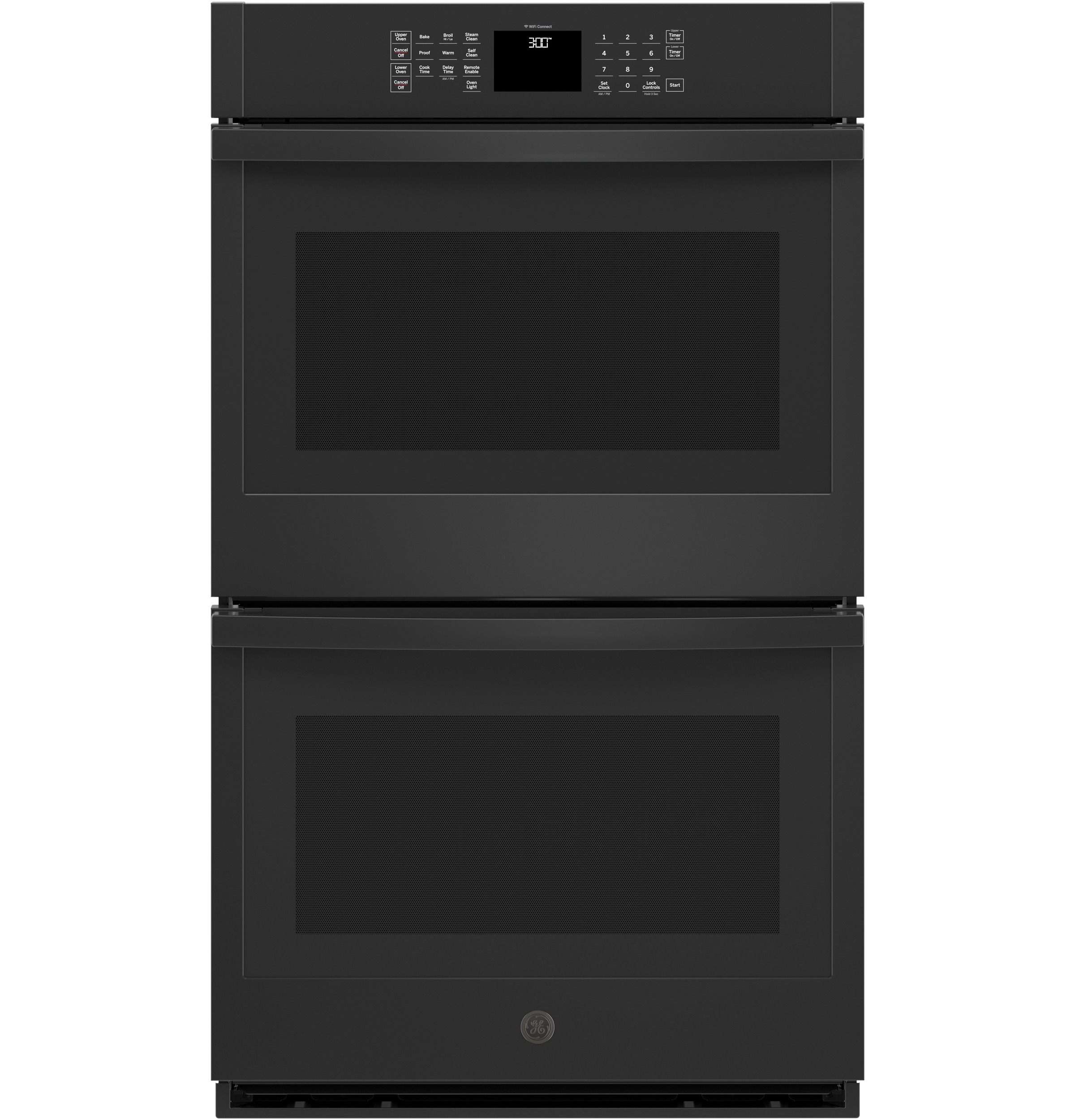 "GE GE® 30"" Smart Built-In Self-Clean Double Wall Oven with Never-Scrub Racks"