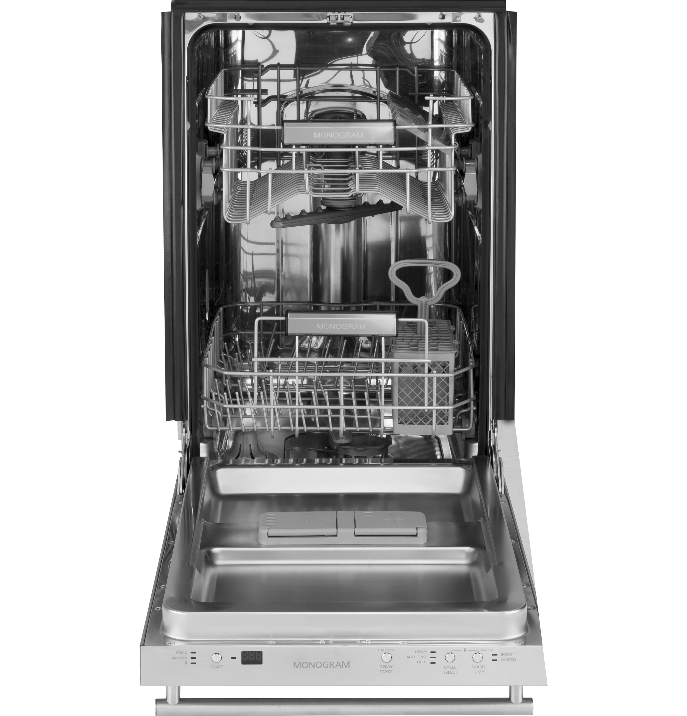 "Model: ZDT165SILII | Monogram Monogram 18"" Dishwasher"