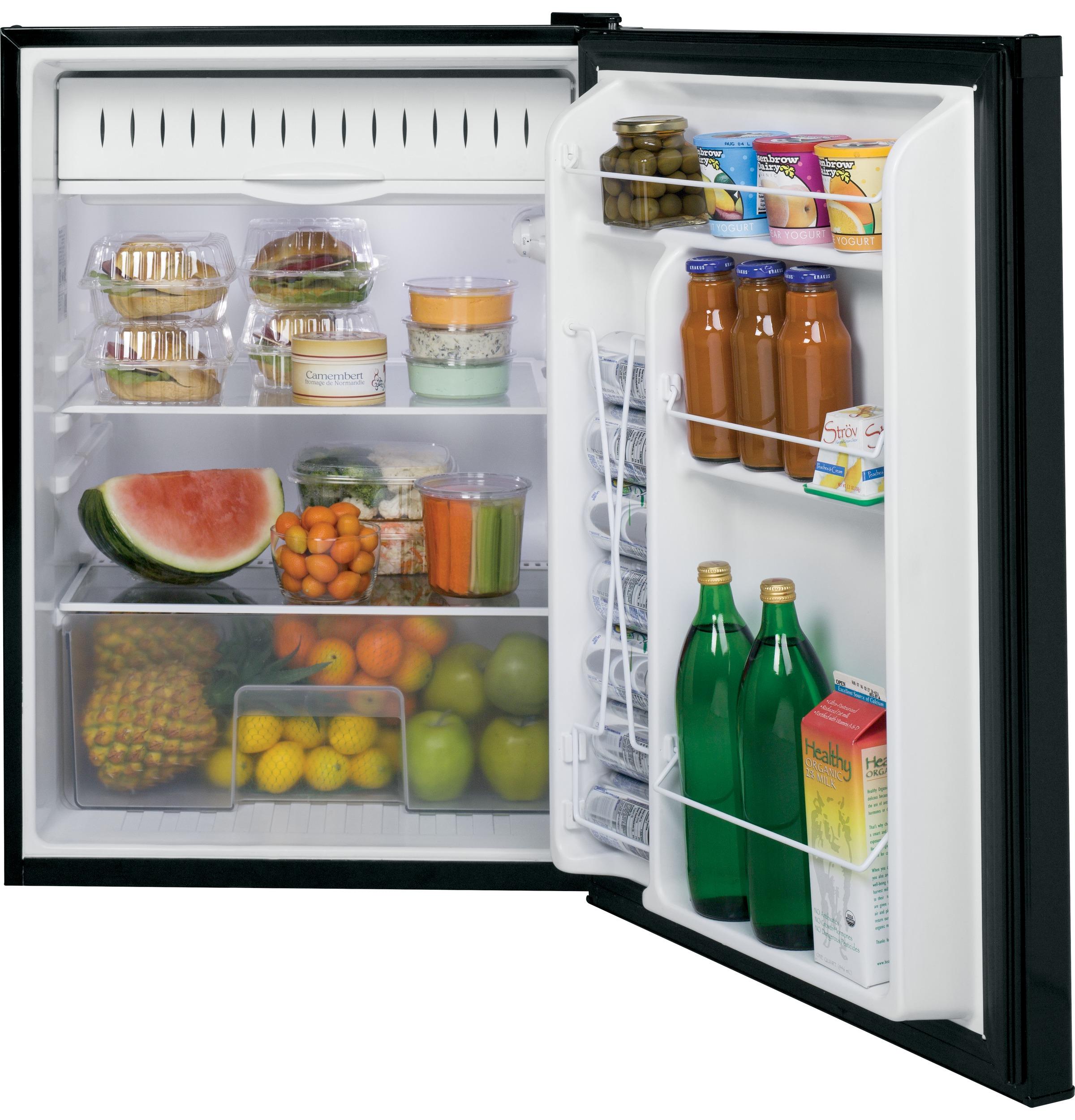 Model: GCE06GGHBB | GE GE® Compact Refrigerator