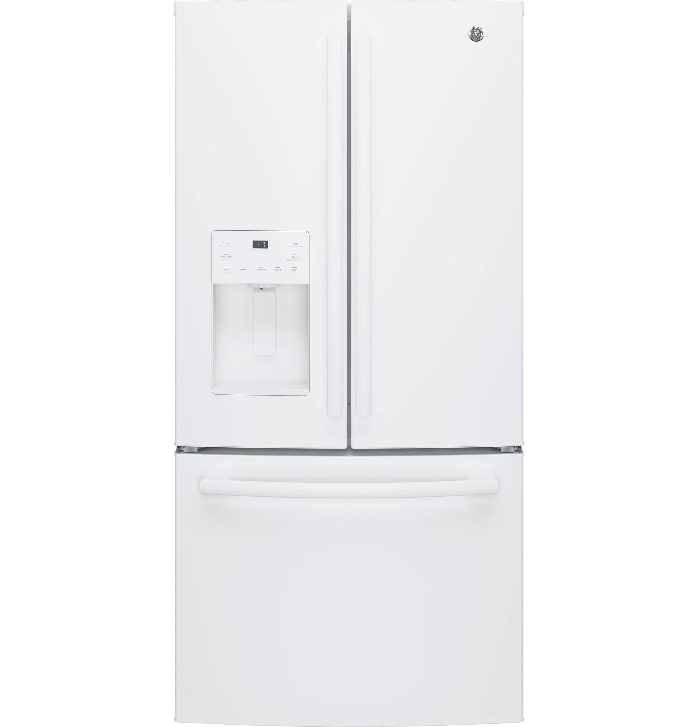 GE GE® ENERGY STAR® 23.7 Cu. Ft. French-Door Refrigerator