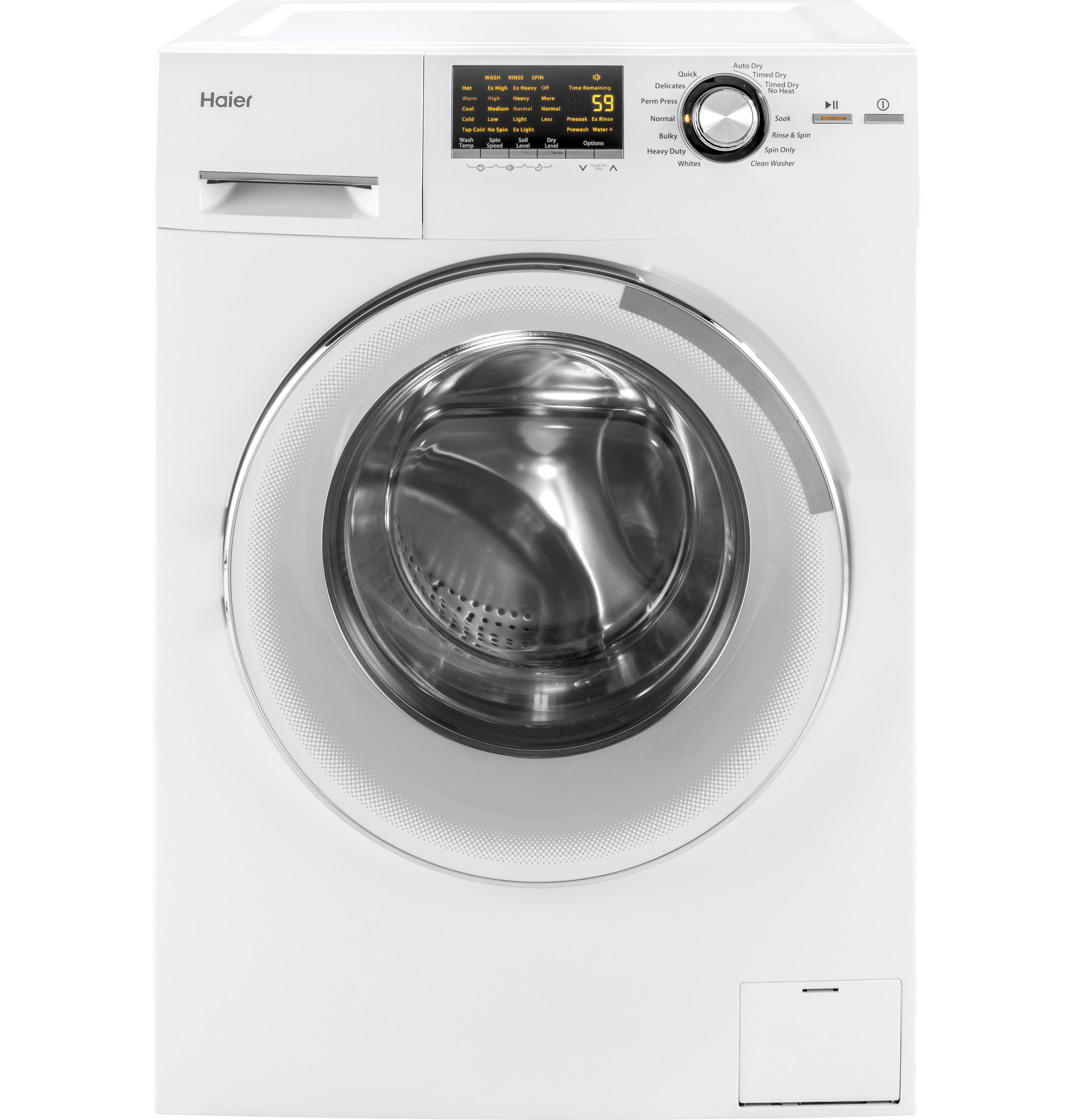 "Haier 24"" 2.0 cu. ft. Front Load Washer/Dryer Combo"