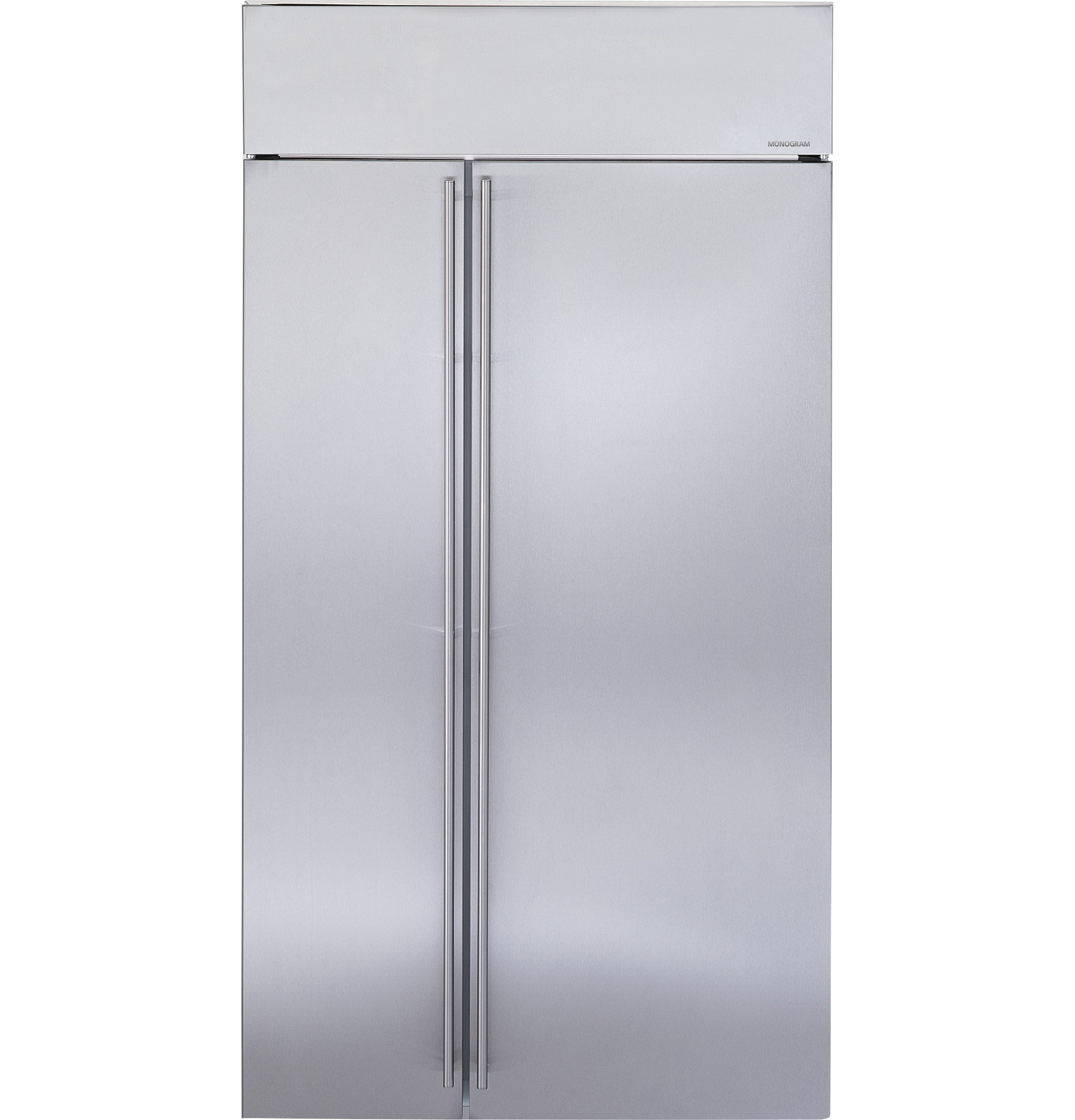 "Monogram Monogram 42"" Smart Built-In Side-by-Side Refrigerator"