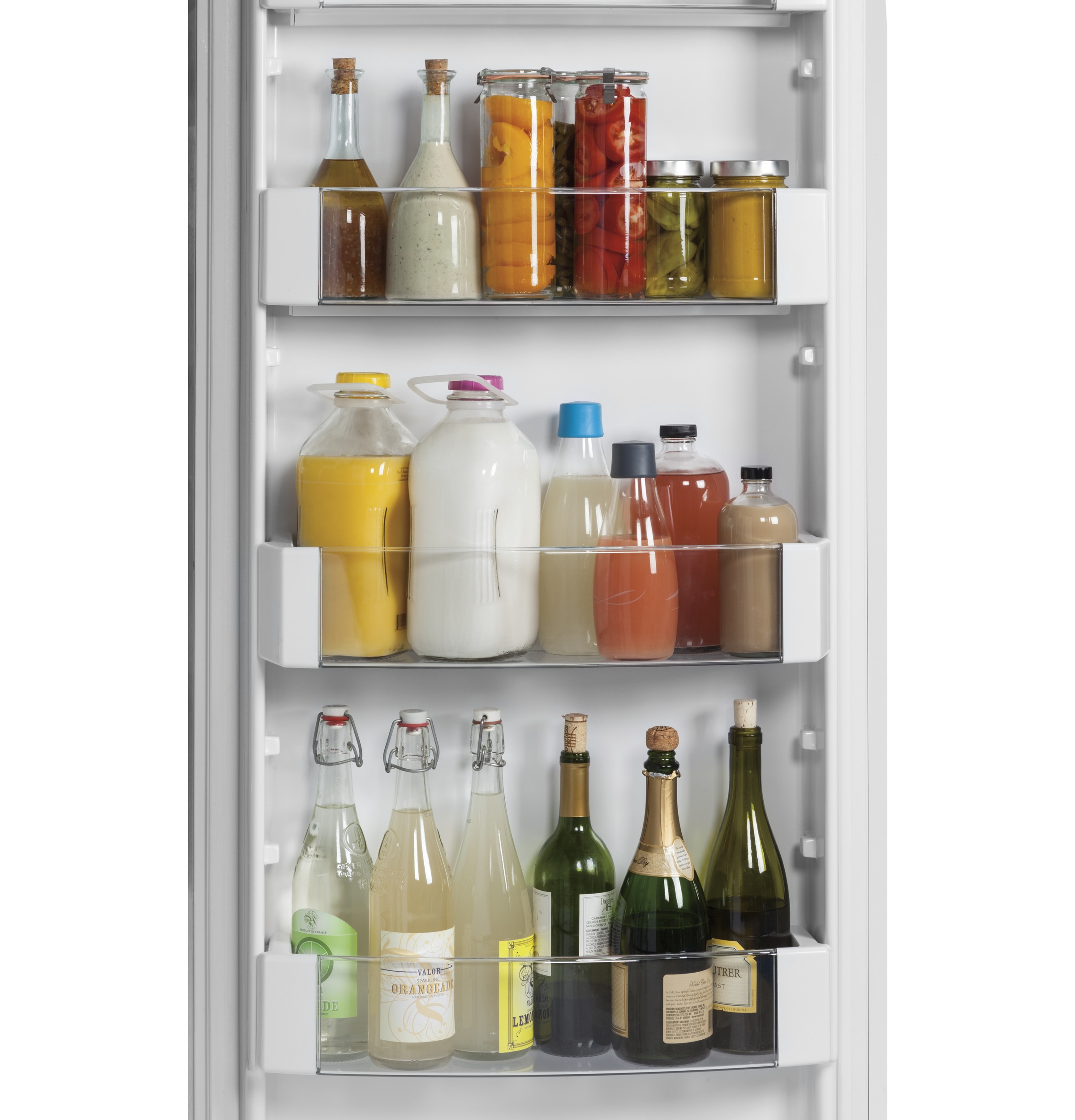 "Model: ZISS420NKSS | Monogram Monogram 42"" Smart Built-In Side-by-Side Refrigerator"