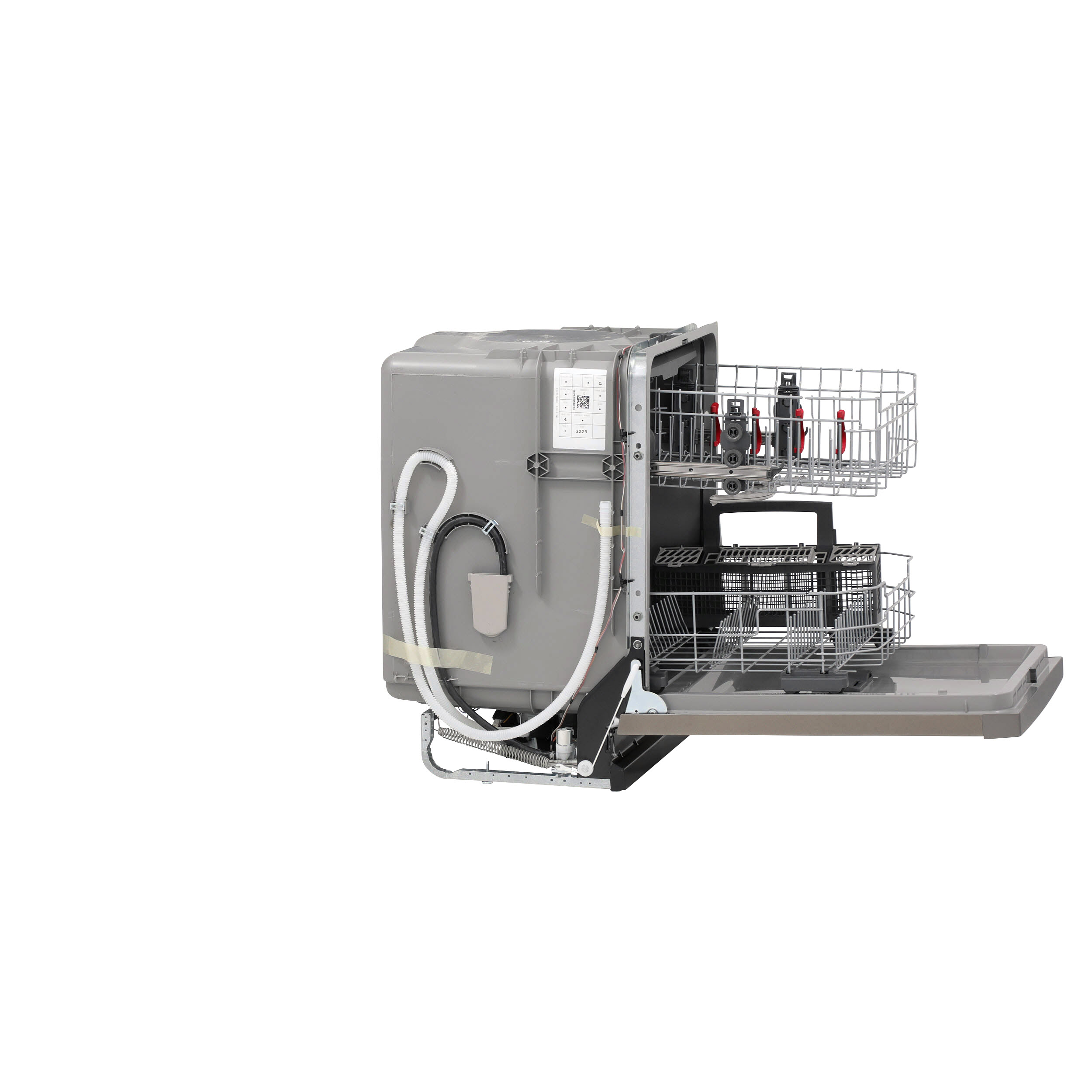 Model: GDF630PMMES | GE GE® Front Control with Plastic Interior Dishwasher with Sanitize Cycle & Dry Boost
