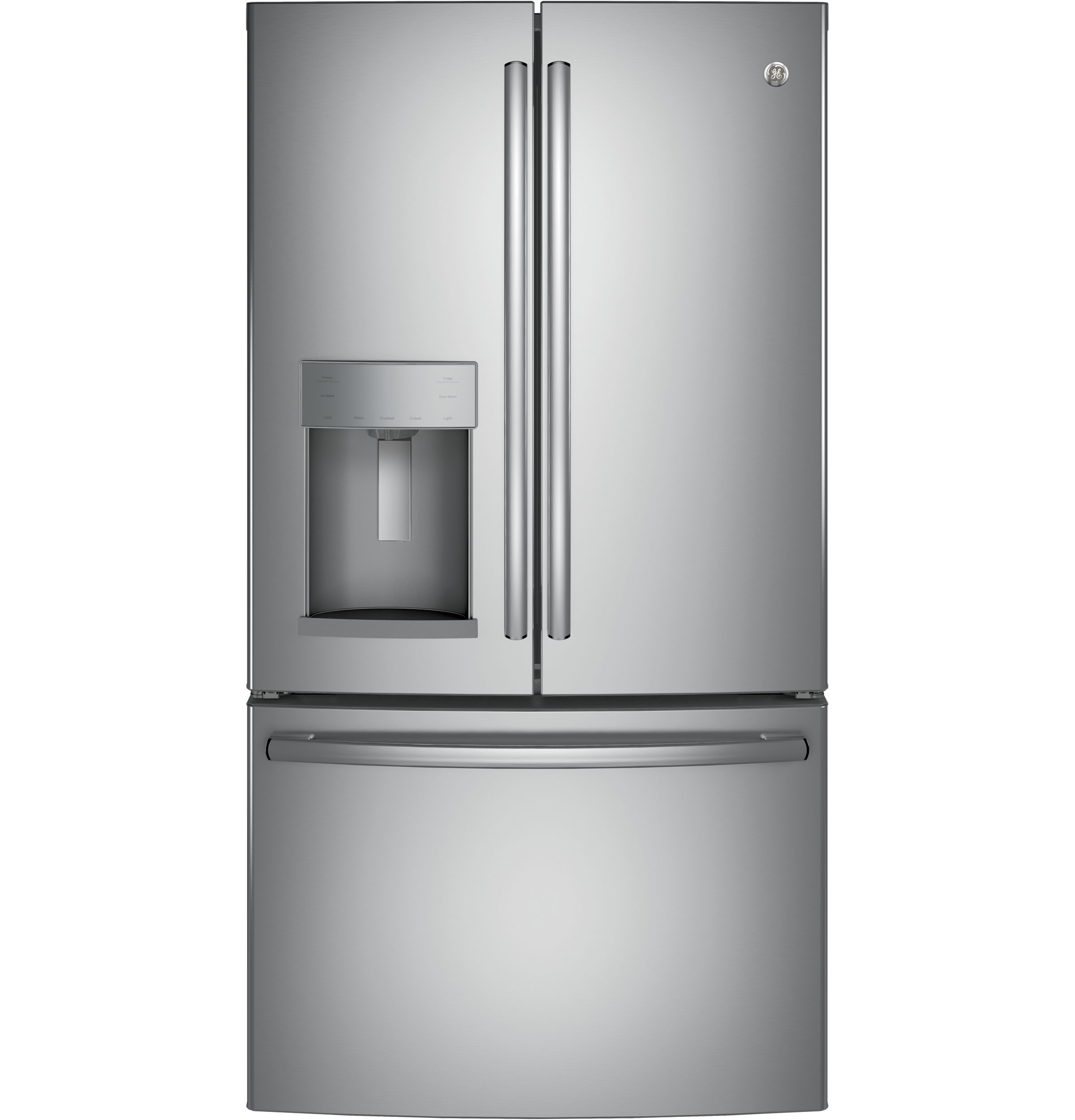 GE GE® 27.8 Cu. Ft. French-Door Refrigerator with Door In Door