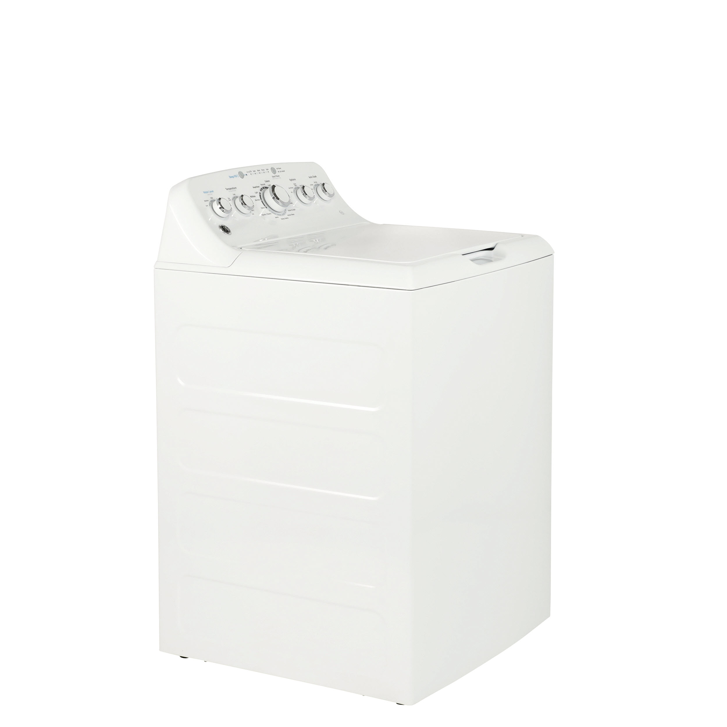 Model: GTW465ASNWW | GE GE® 4.5 cu. ft. Capacity Washer with Stainless Steel Basket