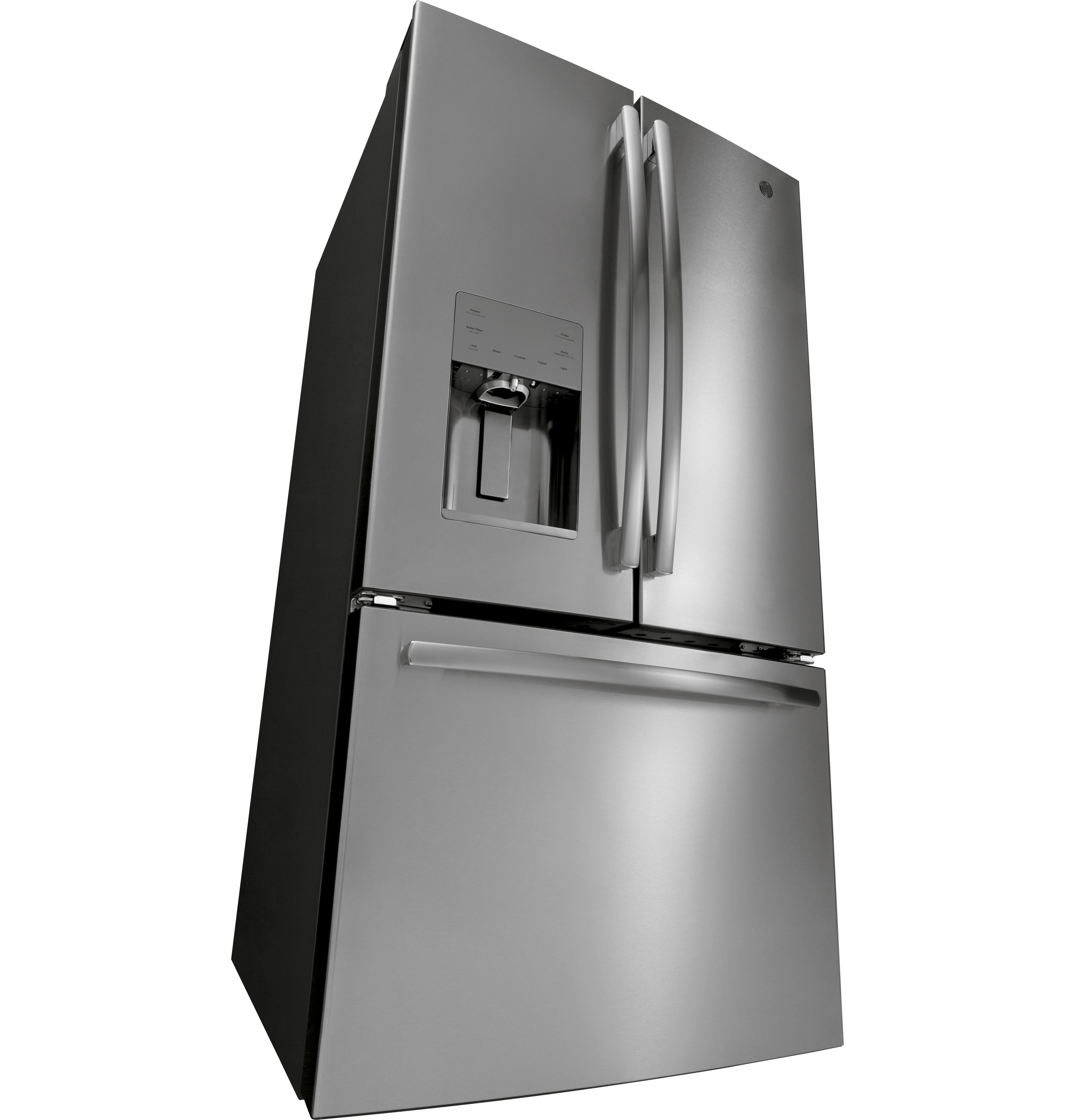 Model: GFE26JSMSS | GE GE® ENERGY STAR® 25.6 Cu. Ft. French-Door Refrigerator