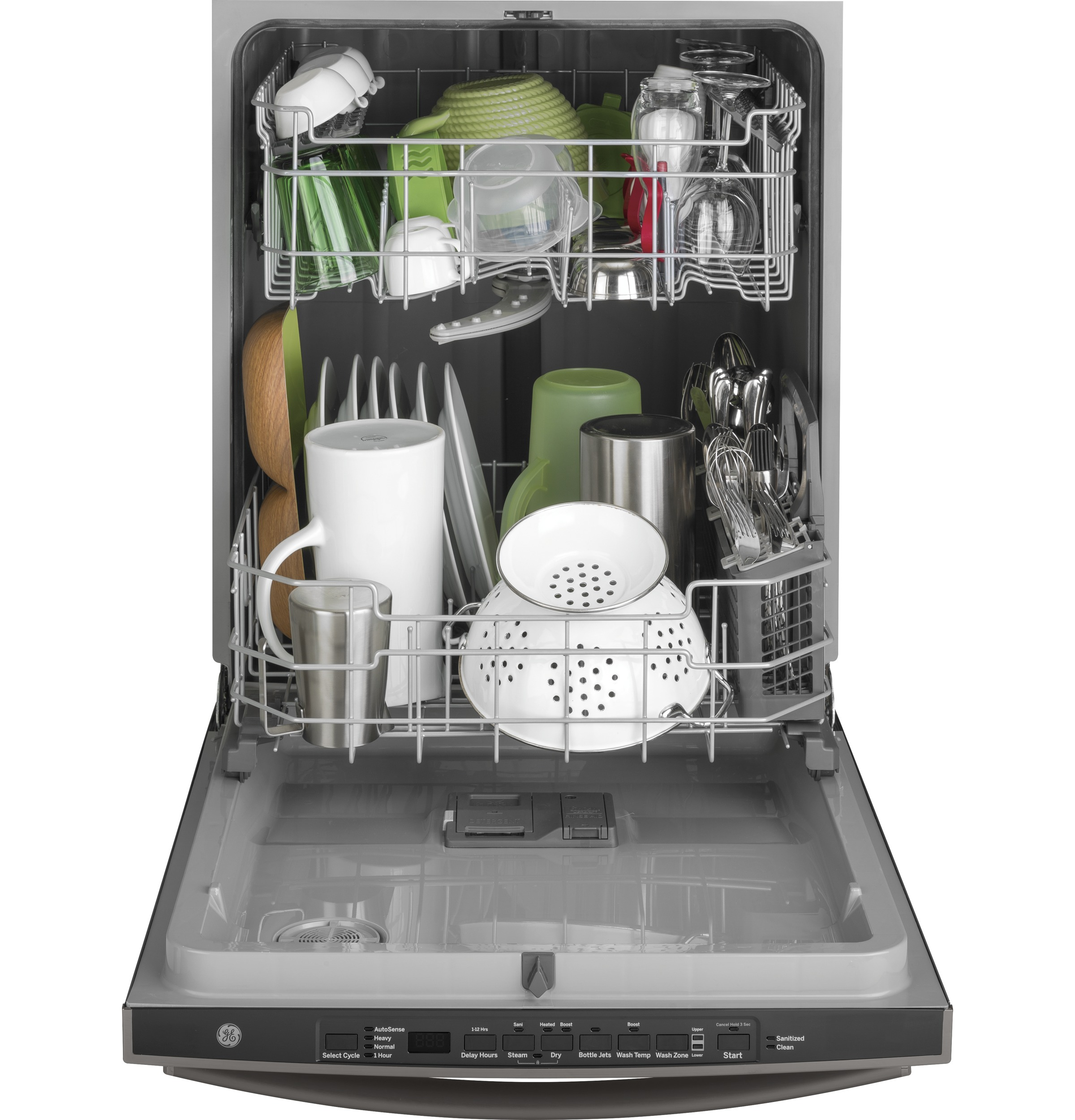 Model: GDT605PBMTS | GE GE® Dishwasher with Hidden Controls