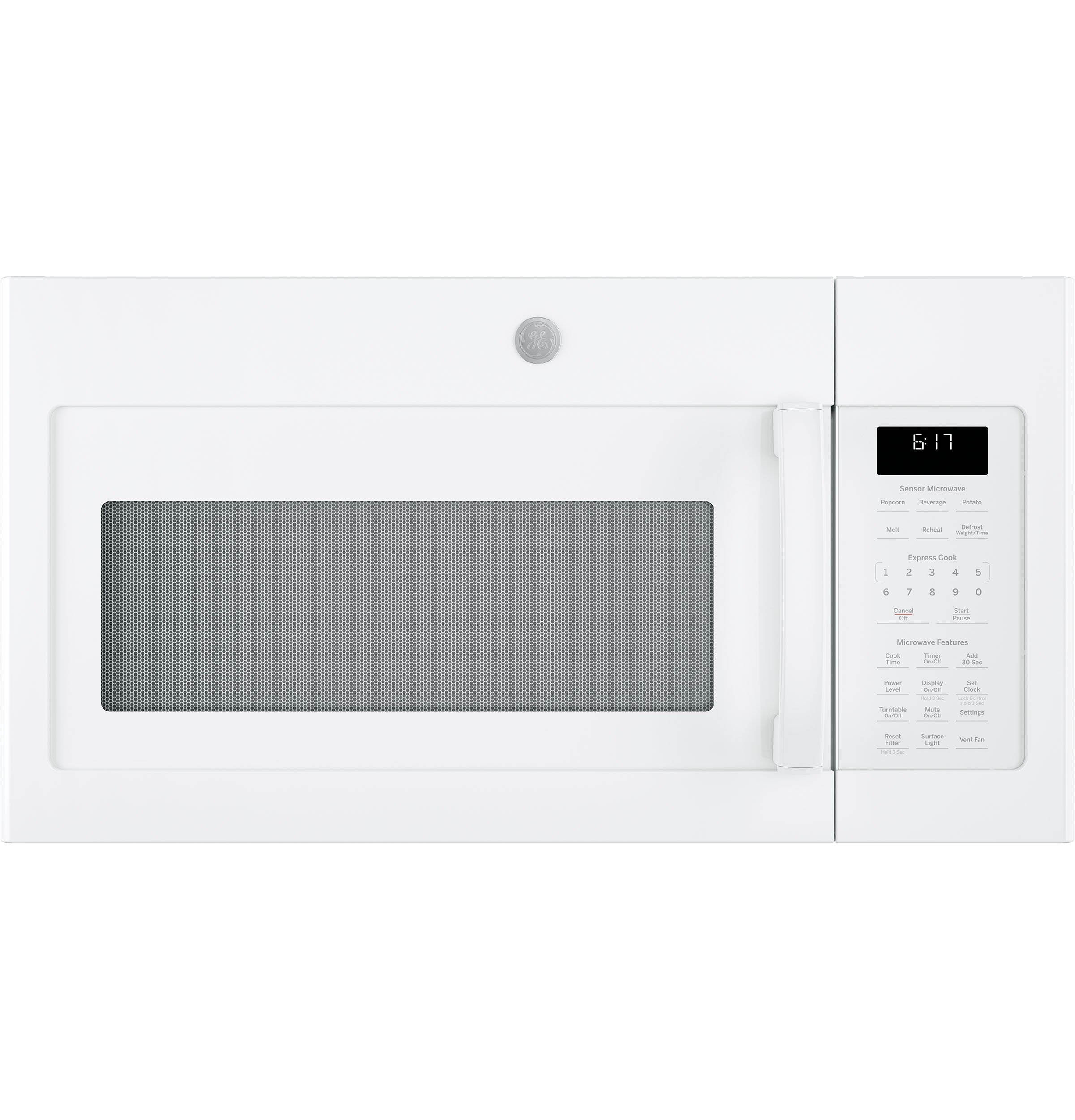 GE GE® 1.7 Cu. Ft. Over-the-Range Sensor Microwave Oven