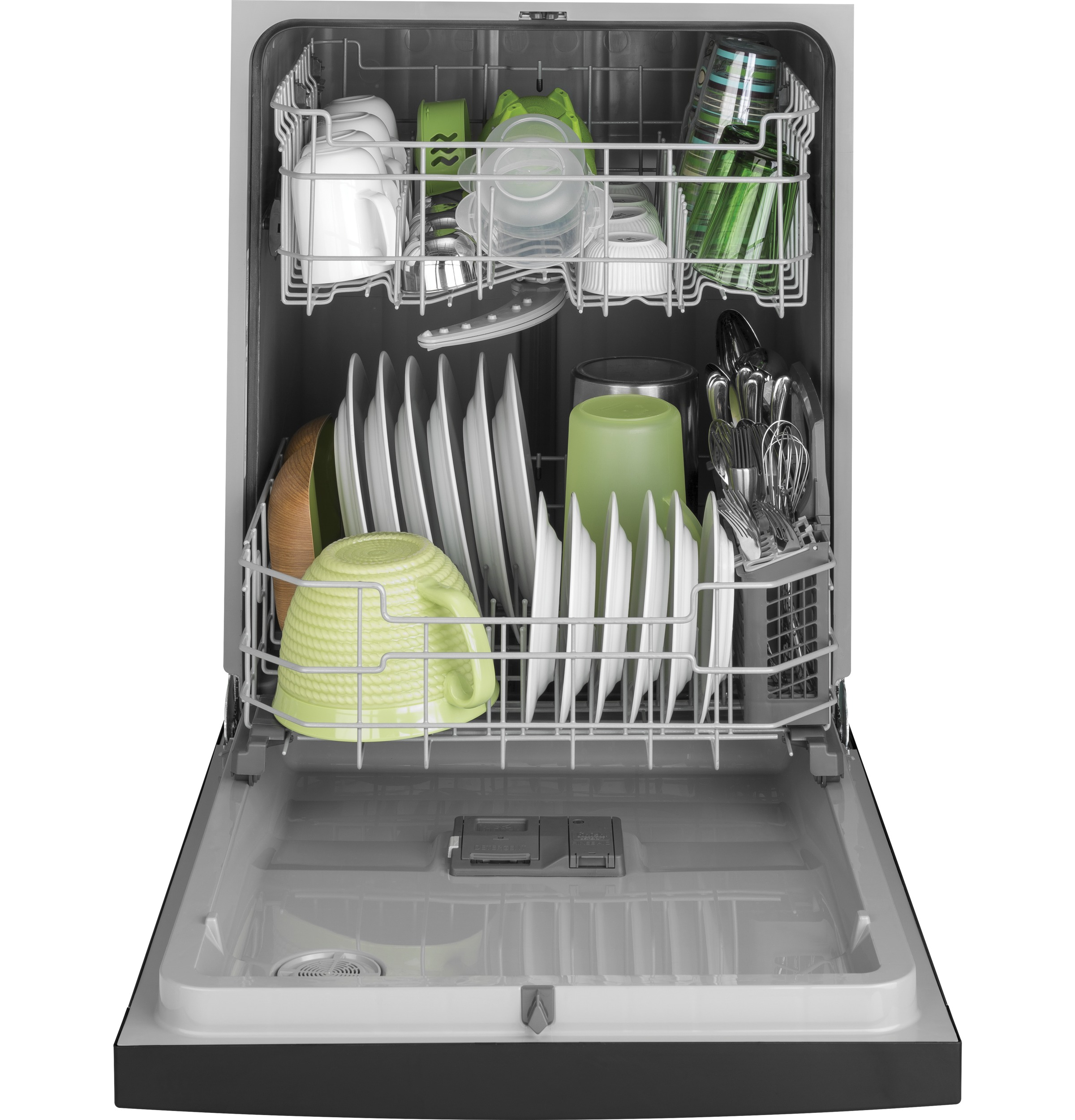 Model: GDF511PSMSS | GE GE® Dishwasher with Front Controls and Power Cord