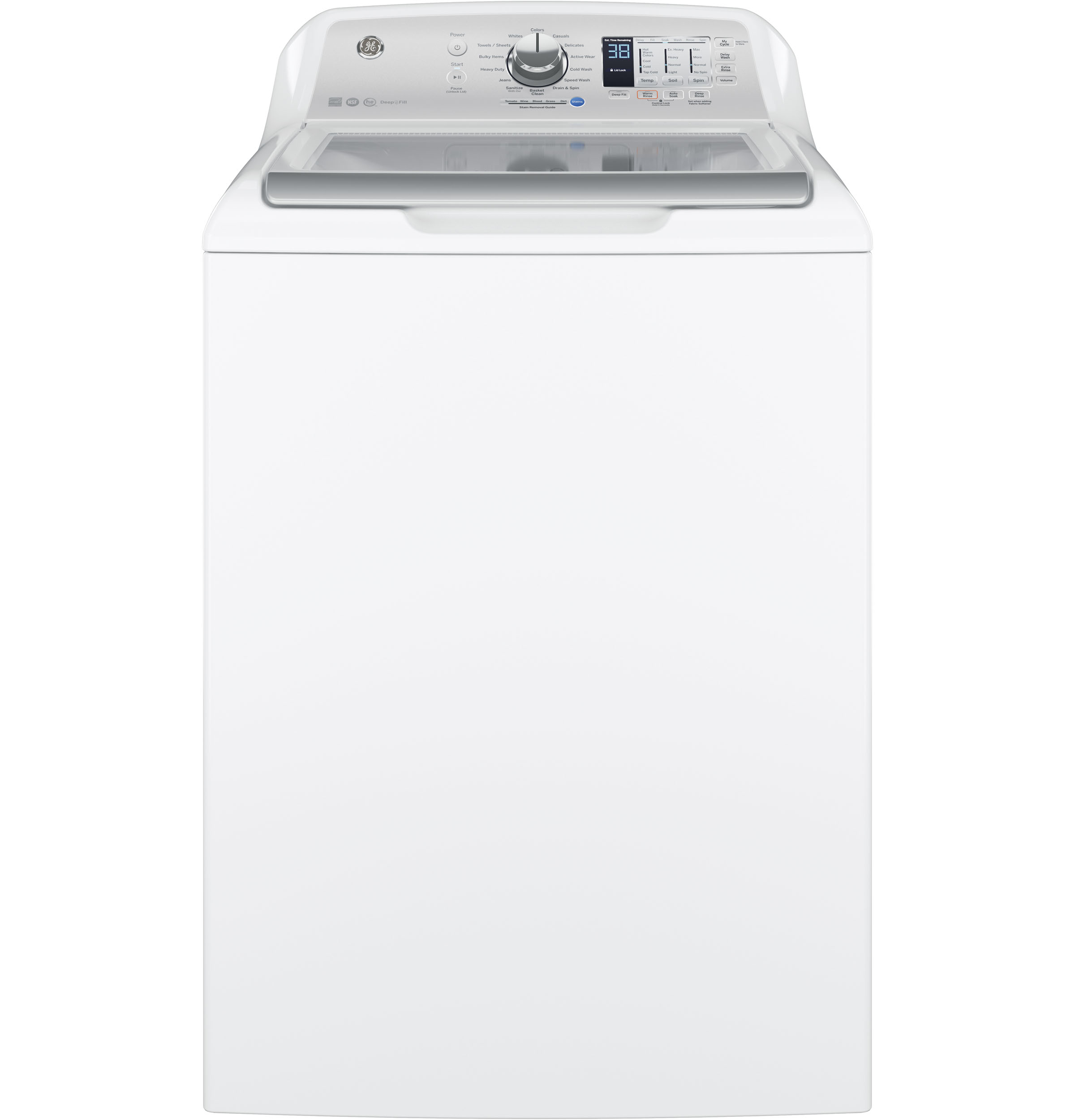 GE GE® 4.6  cu. ft. Capacity  Washer with Stainless Steel Basket