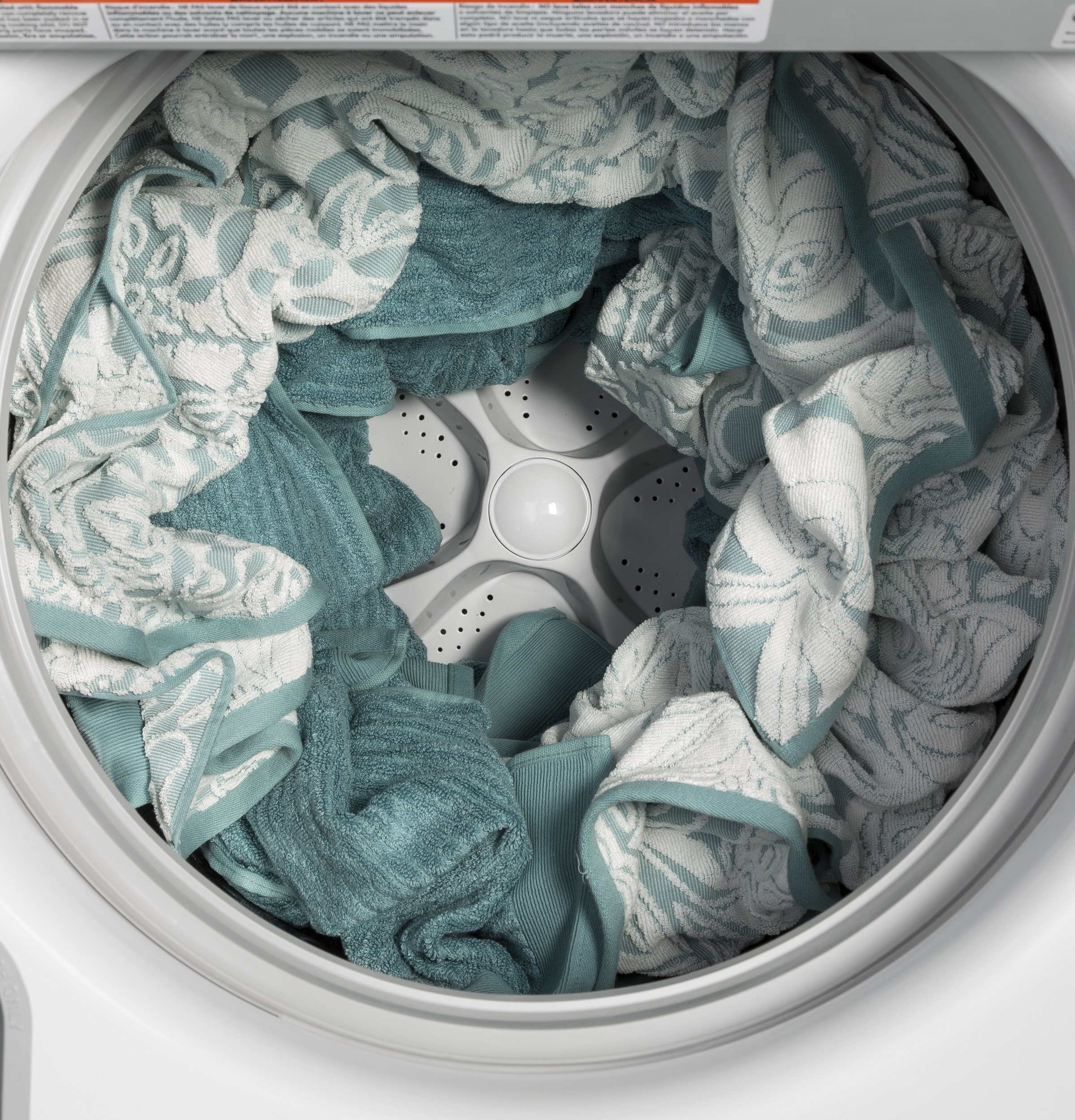 Model: GTW680BSJWS | GE GE® 4.6  cu. ft. Capacity  Washer with Stainless Steel Basket