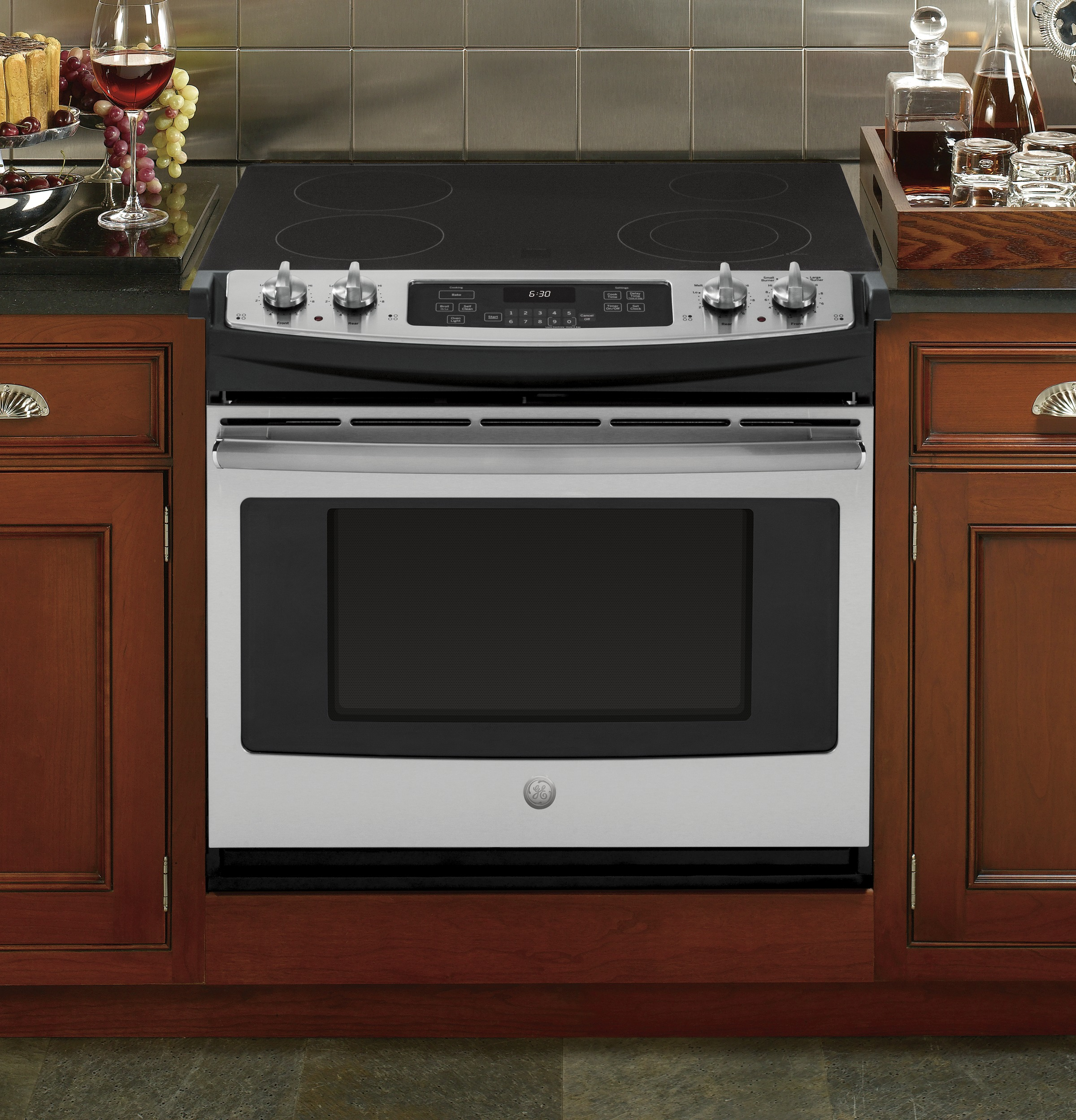 "GE GE® 30"" Drop-In Electric Range"