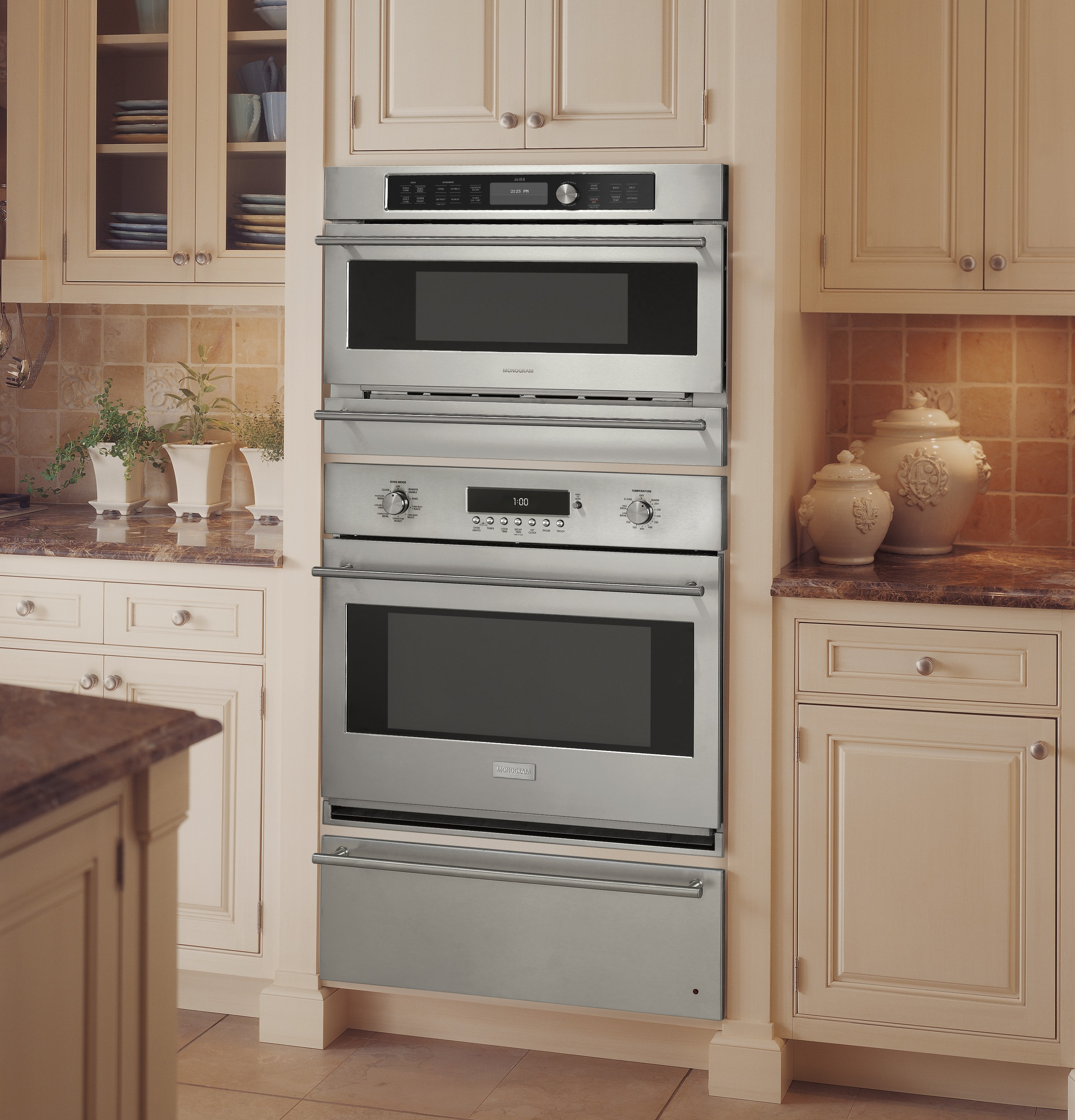 model: zsc2201jss | monogram built-in oven with advantium� speedcook  technology- 240v