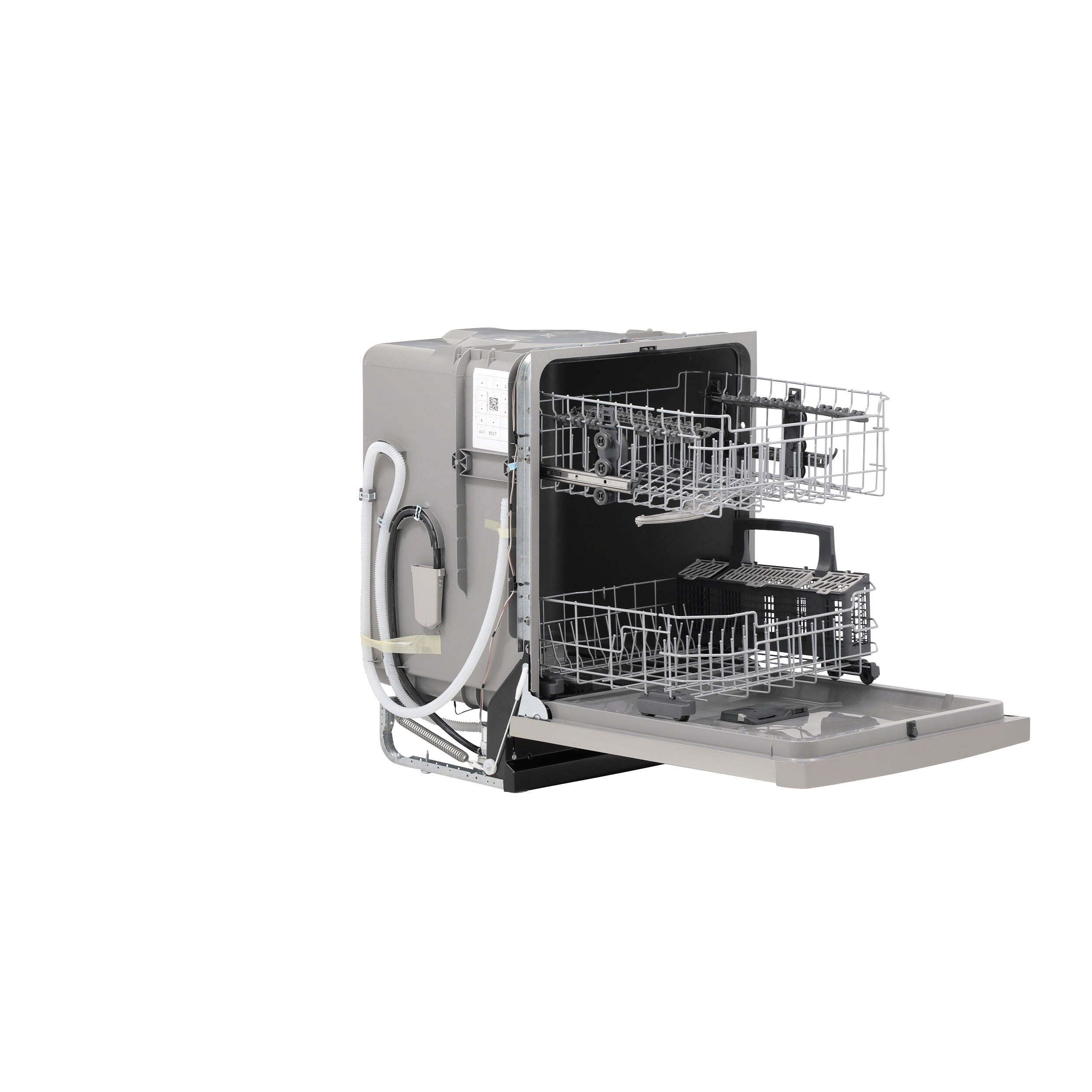 Model: GDF530PSMSS | GE GE® Front Control with Plastic Interior Dishwasher with Sanitize Cycle & Dry Boost