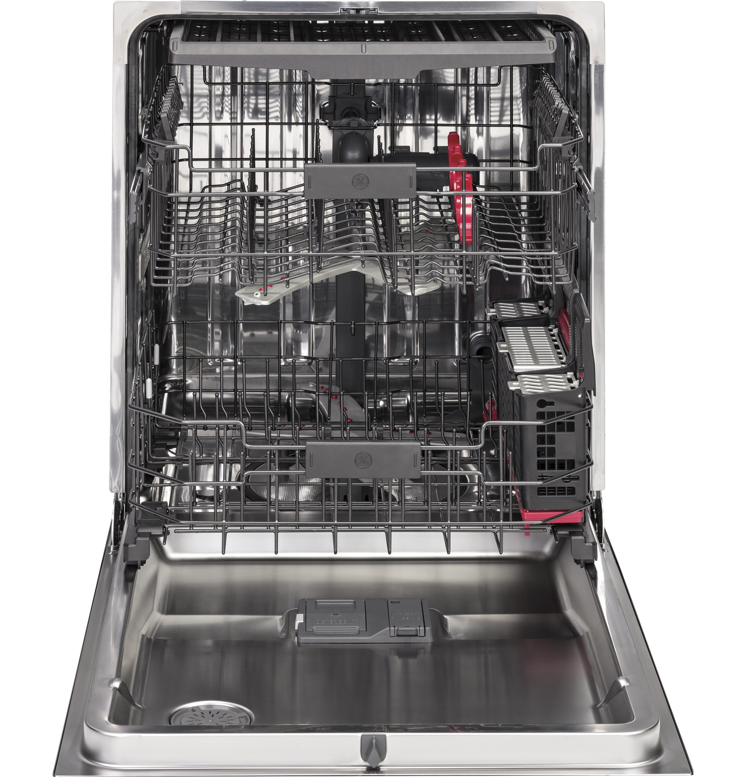 Model: PDT855SMJES | GE Profile™ Stainless Steel Interior Dishwasher with Hidden Controls