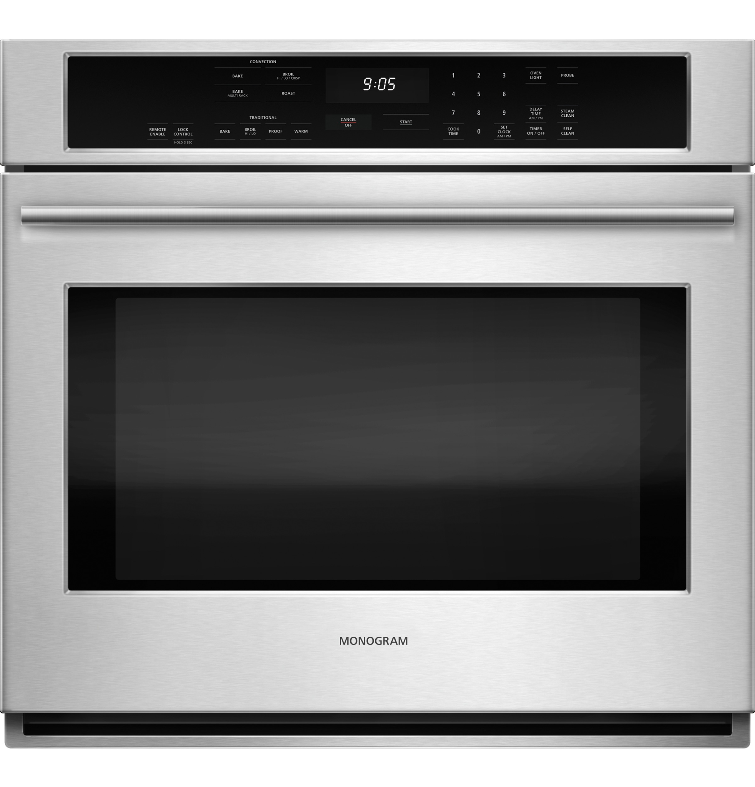 "Monogram Monogram 30"" Electric Convection Single Wall Oven"
