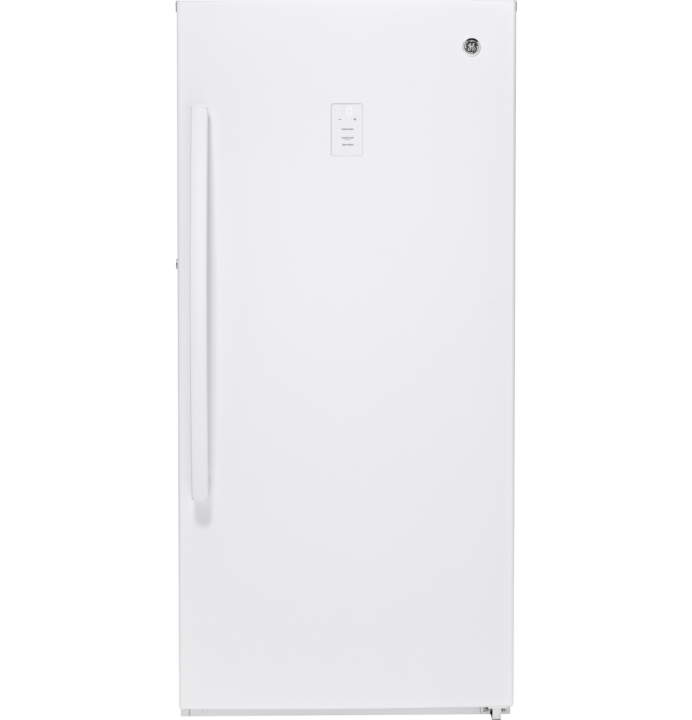 Model: FUF14SMRWW | GE GE® 14.1 Cu. Ft. Frost-Free Upright Freezer