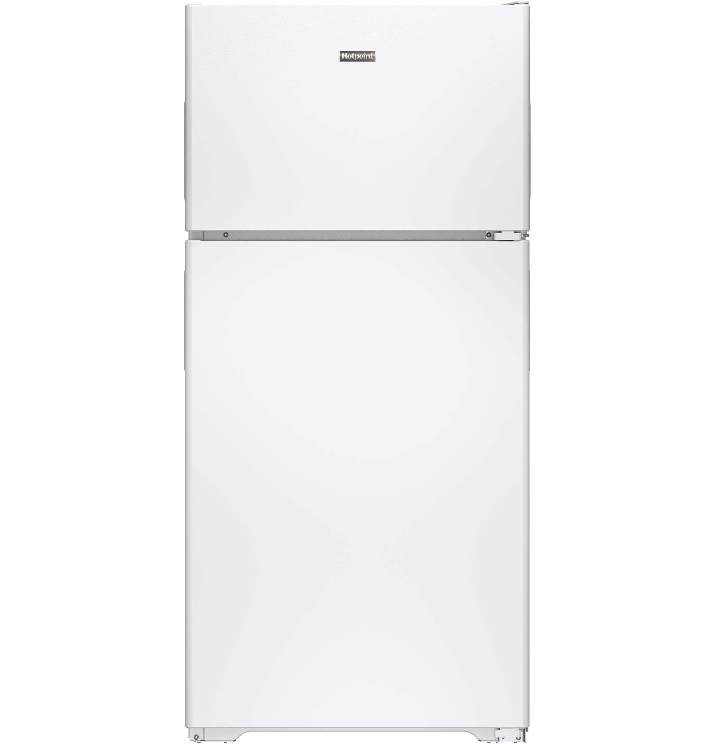 Hotpoint Hotpoint® ENERGY STAR® 14.6 Cu. Ft. Recessed Handle Top-Freezer Refrigerator