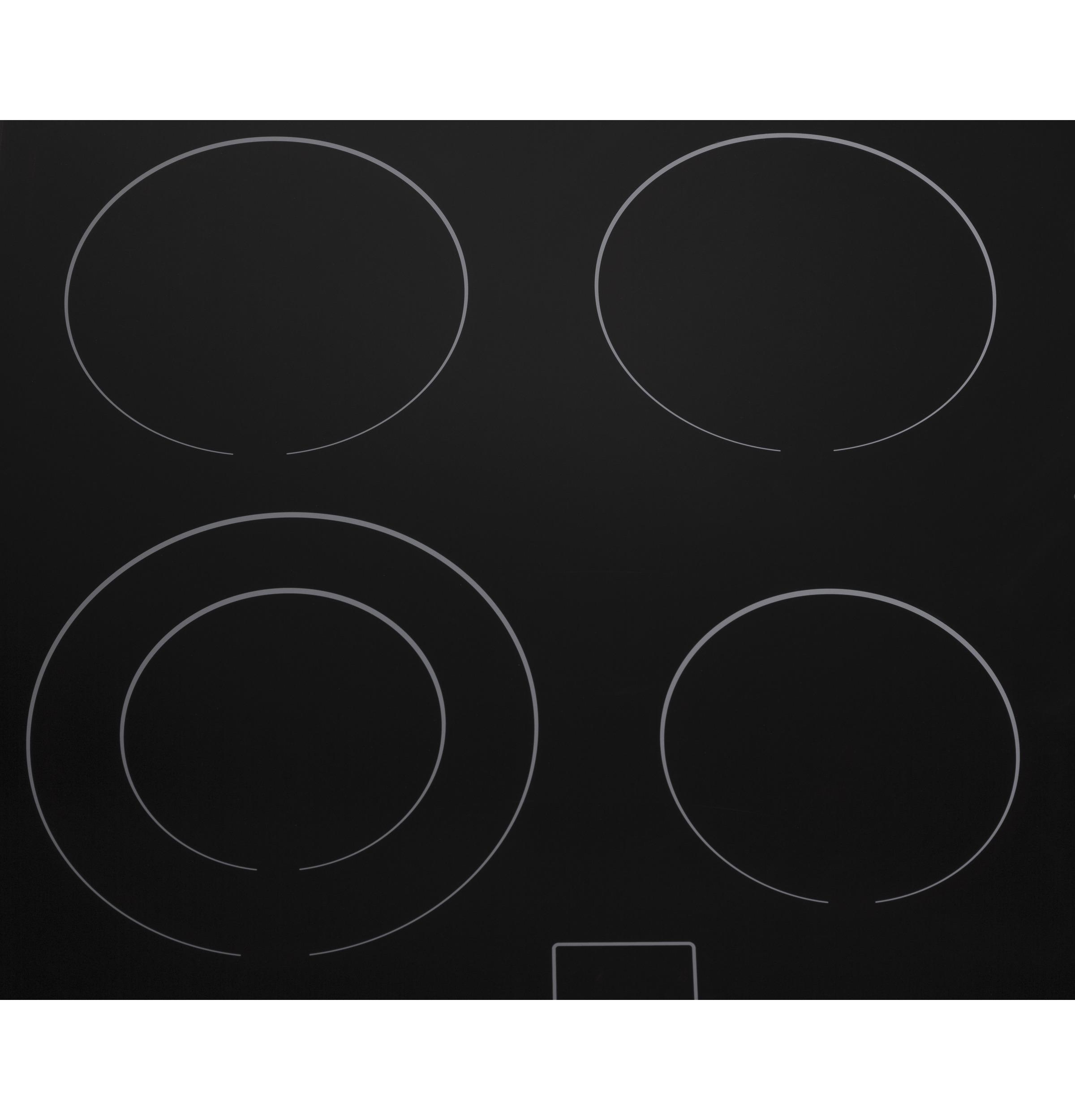"Model: HCC2220BEB | Haier 24"" Electric Cooktop"