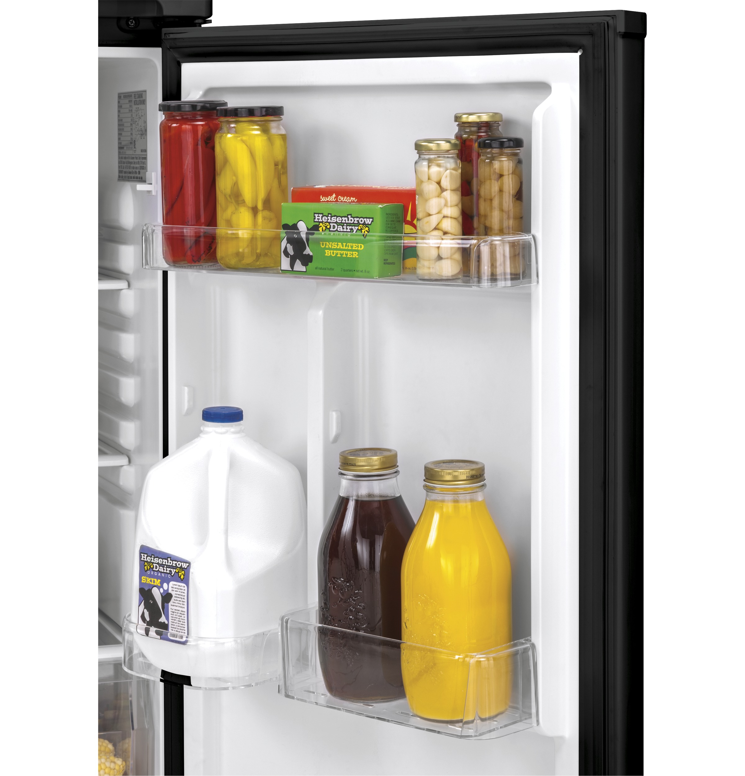 Model: HA10TG21SS | Haier 9.8 Cu. Ft. Top Freezer Refrigerator