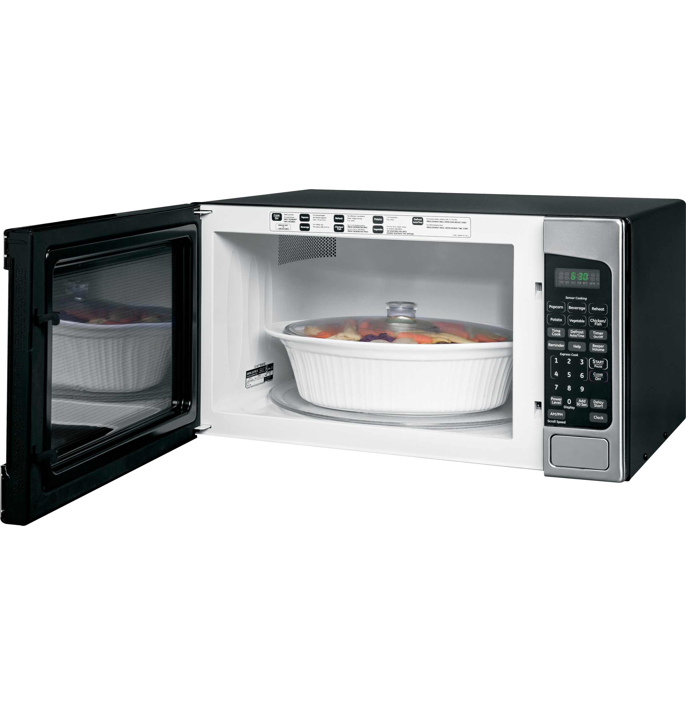 Model: JES2051SNSS | GE GE® 2.0 Cu. Ft. Capacity Countertop Microwave Oven