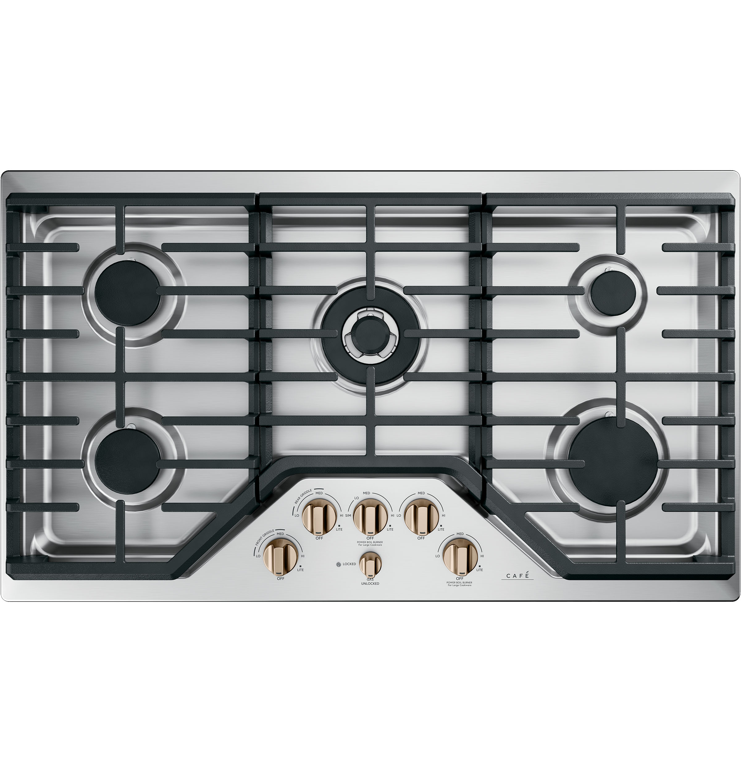 "Cafe Café™ 36"" Gas Cooktop"