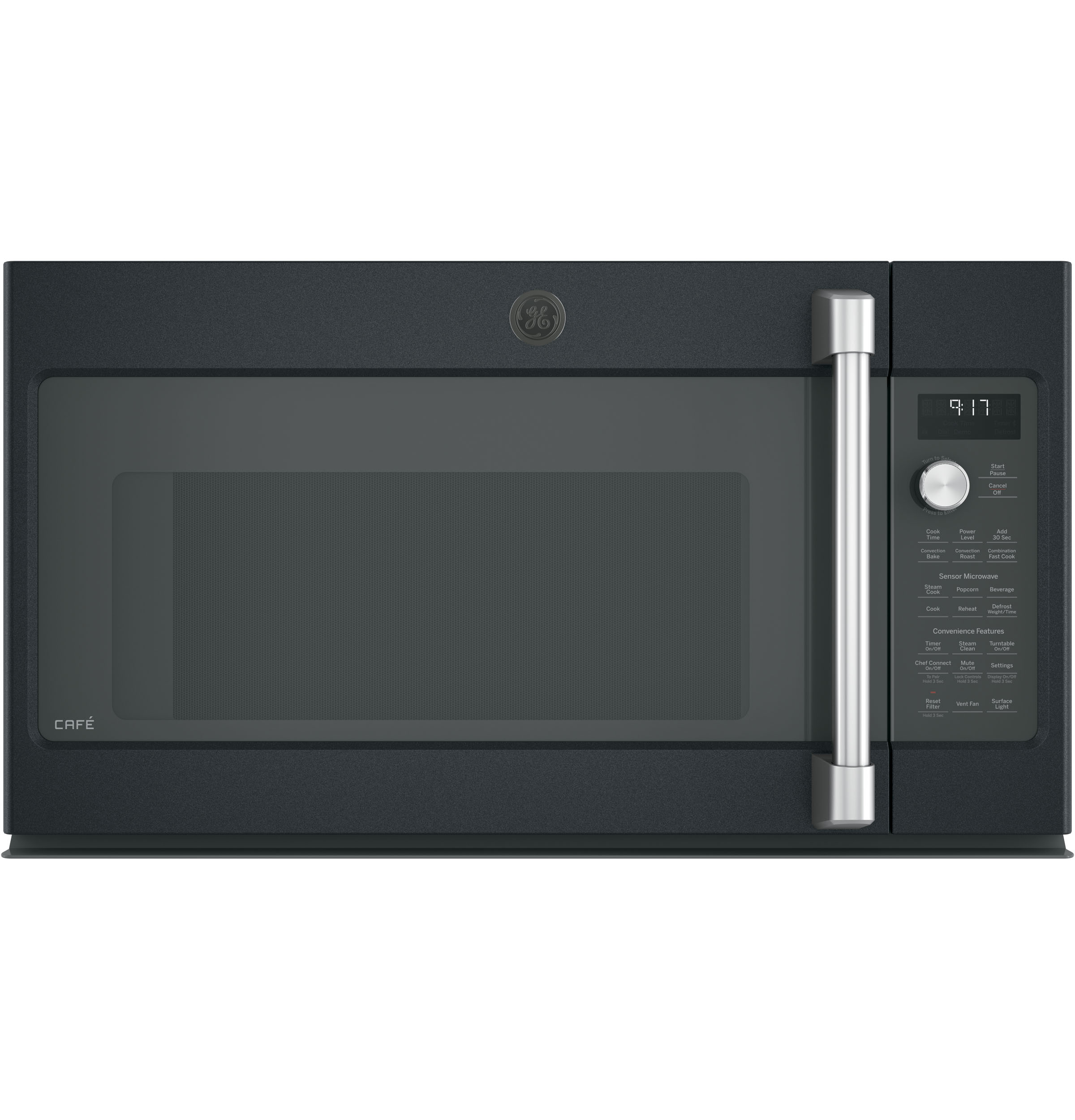 GE Cafe GE Caf Series 1.7 Cu. Ft. Convection Over-the-Range Microwave Oven-New, Obsolete