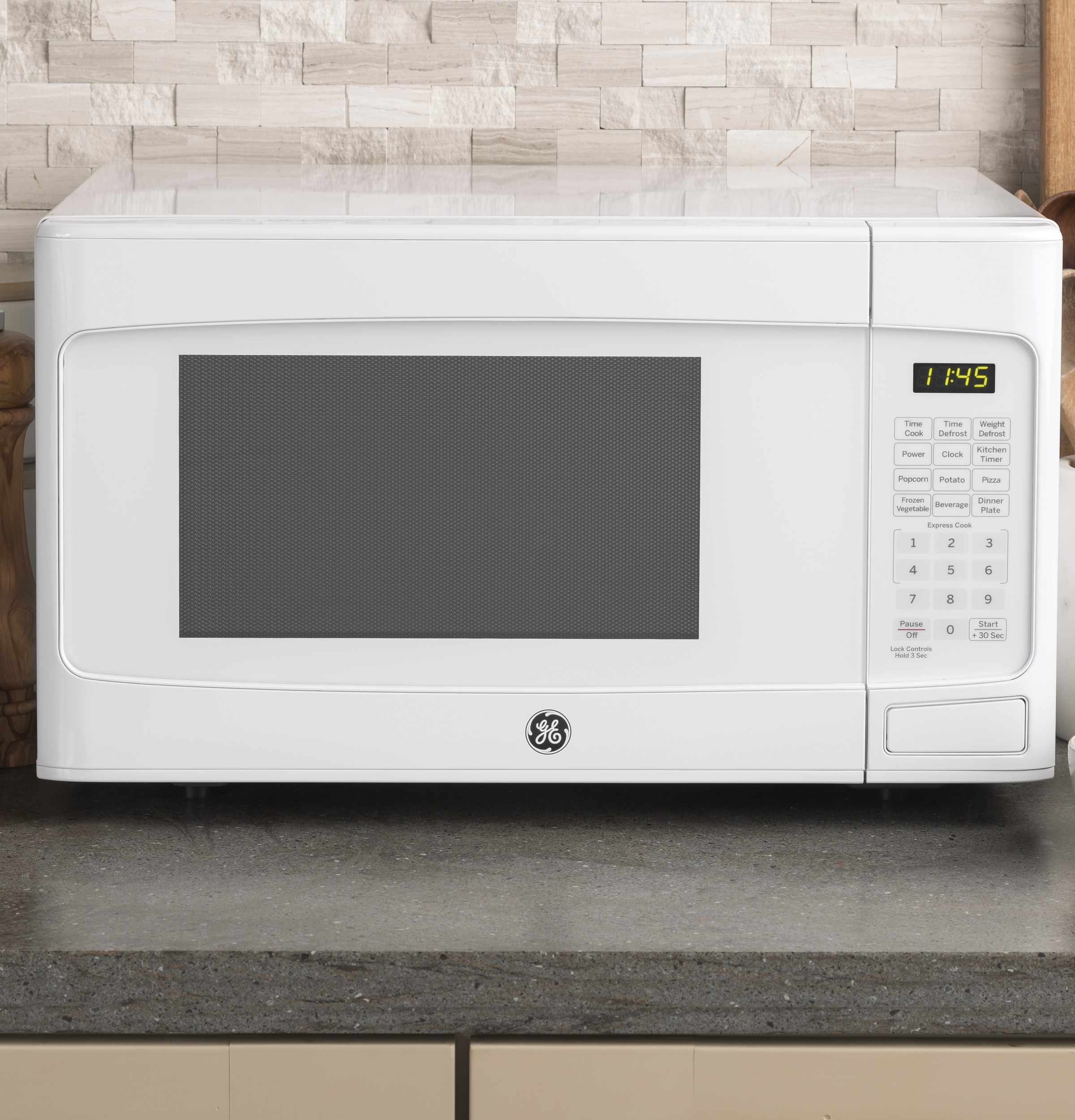 Model: JES1145DLWW | GE GE® 1.1 Cu. Ft. Capacity Countertop Microwave Oven