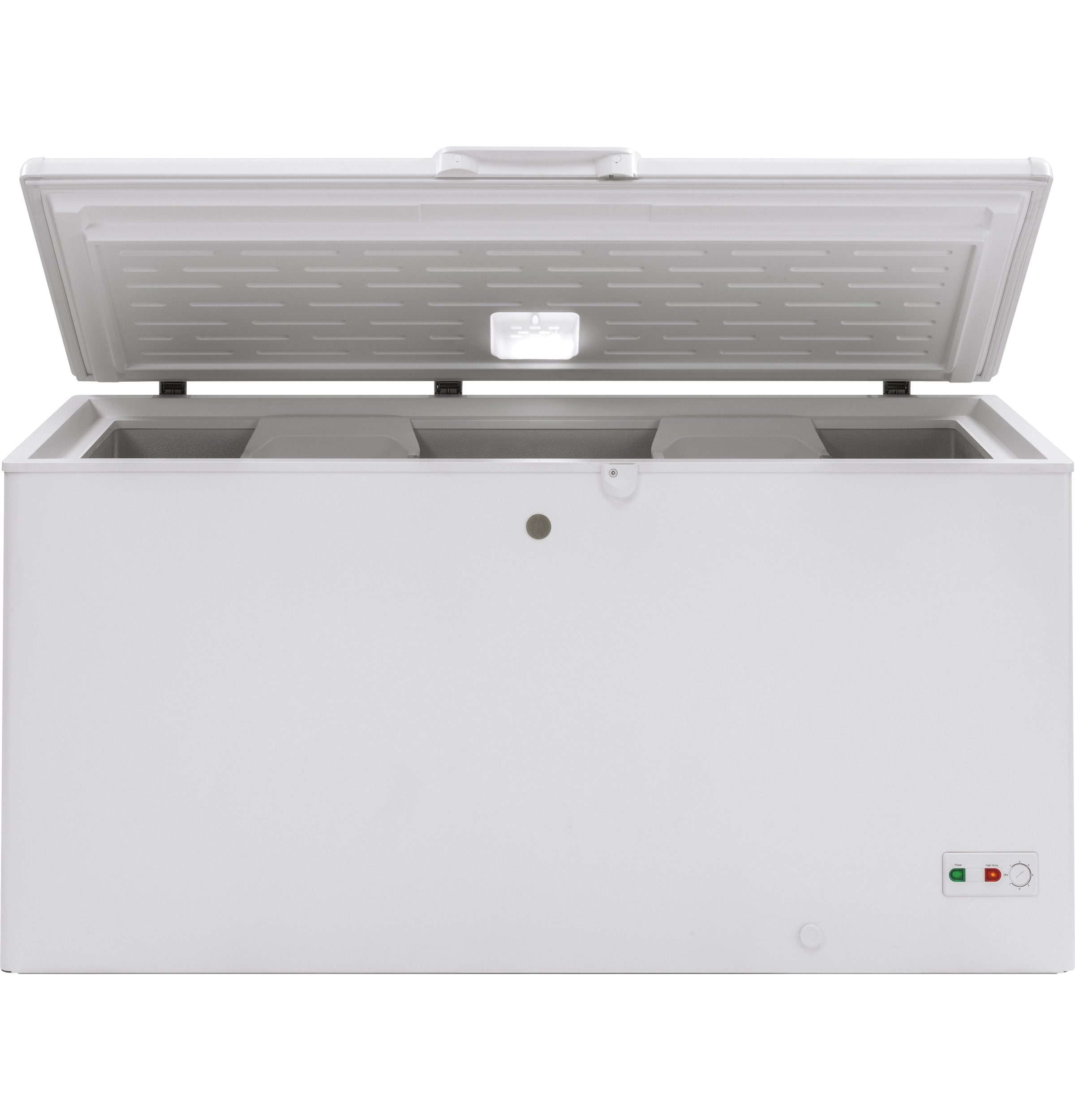 Model: FCM16SLWW | GE GE® 15.7 Cu. Ft. Manual Defrost Chest Freezer