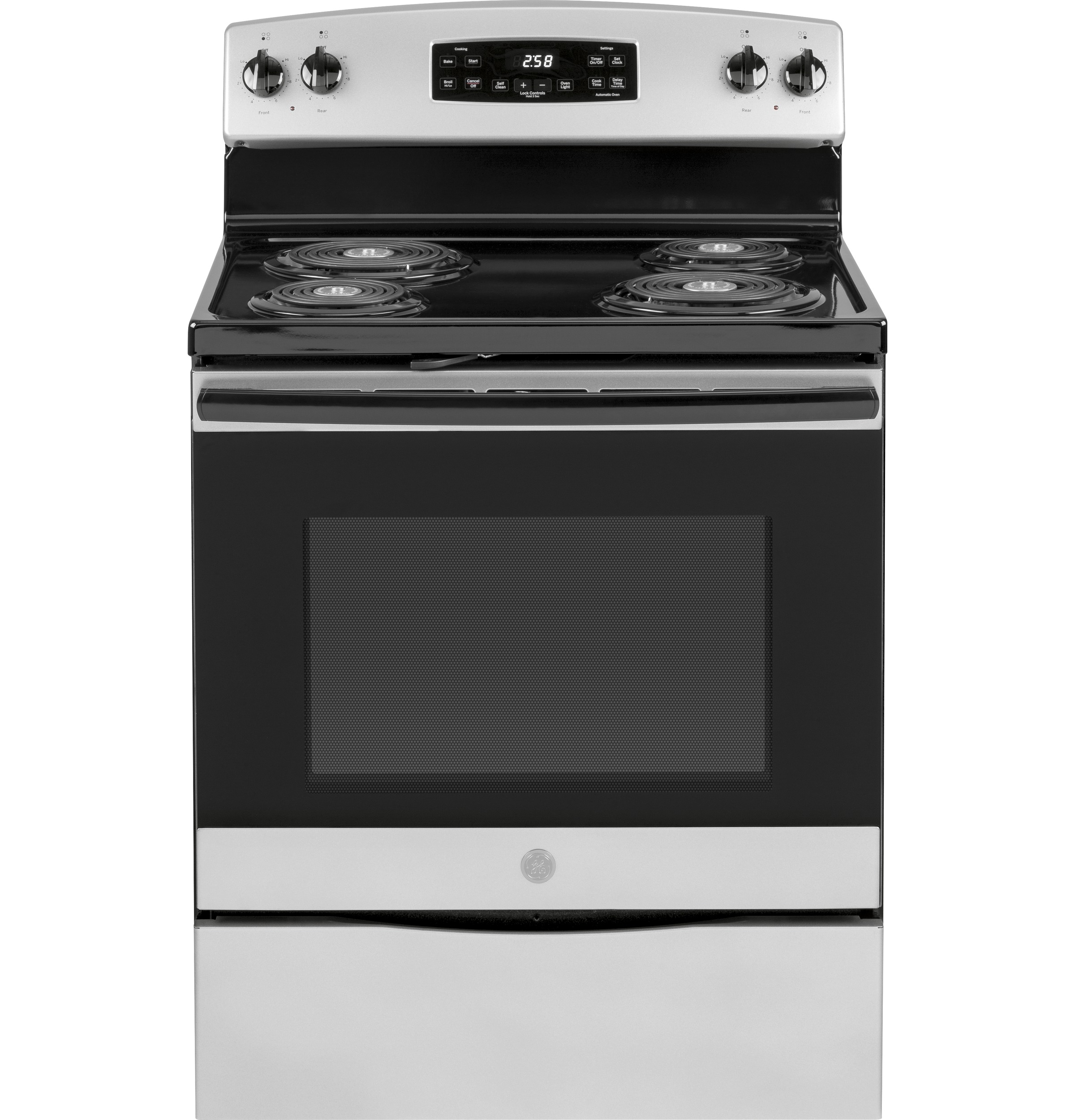 "GE GE® 30"" Free-Standing Self-Clean Electric Range"
