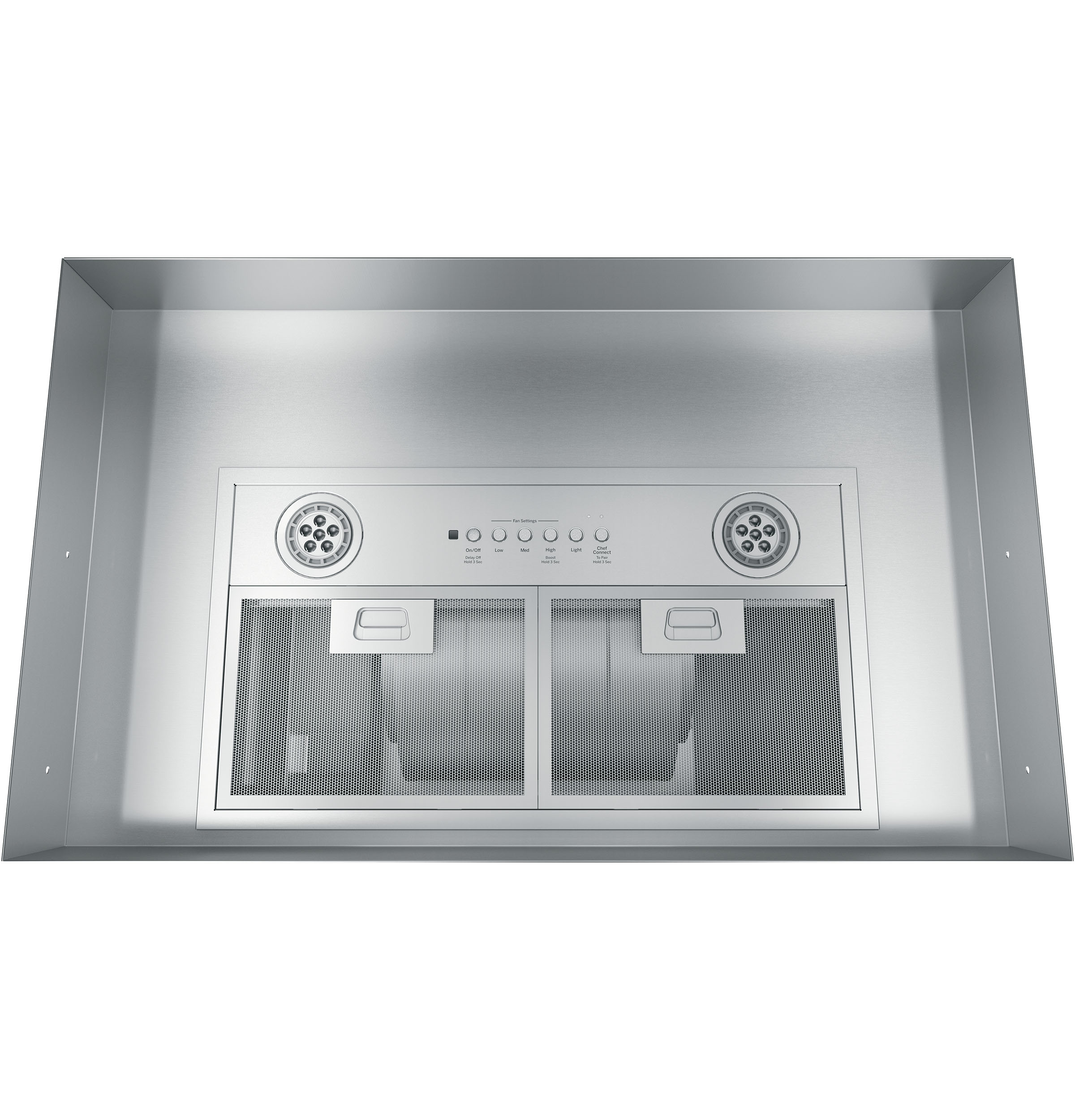 "Model: UVC7300SLSS | GE 20"" Custom Hood Insert w/ Dimmable LED Lighting"