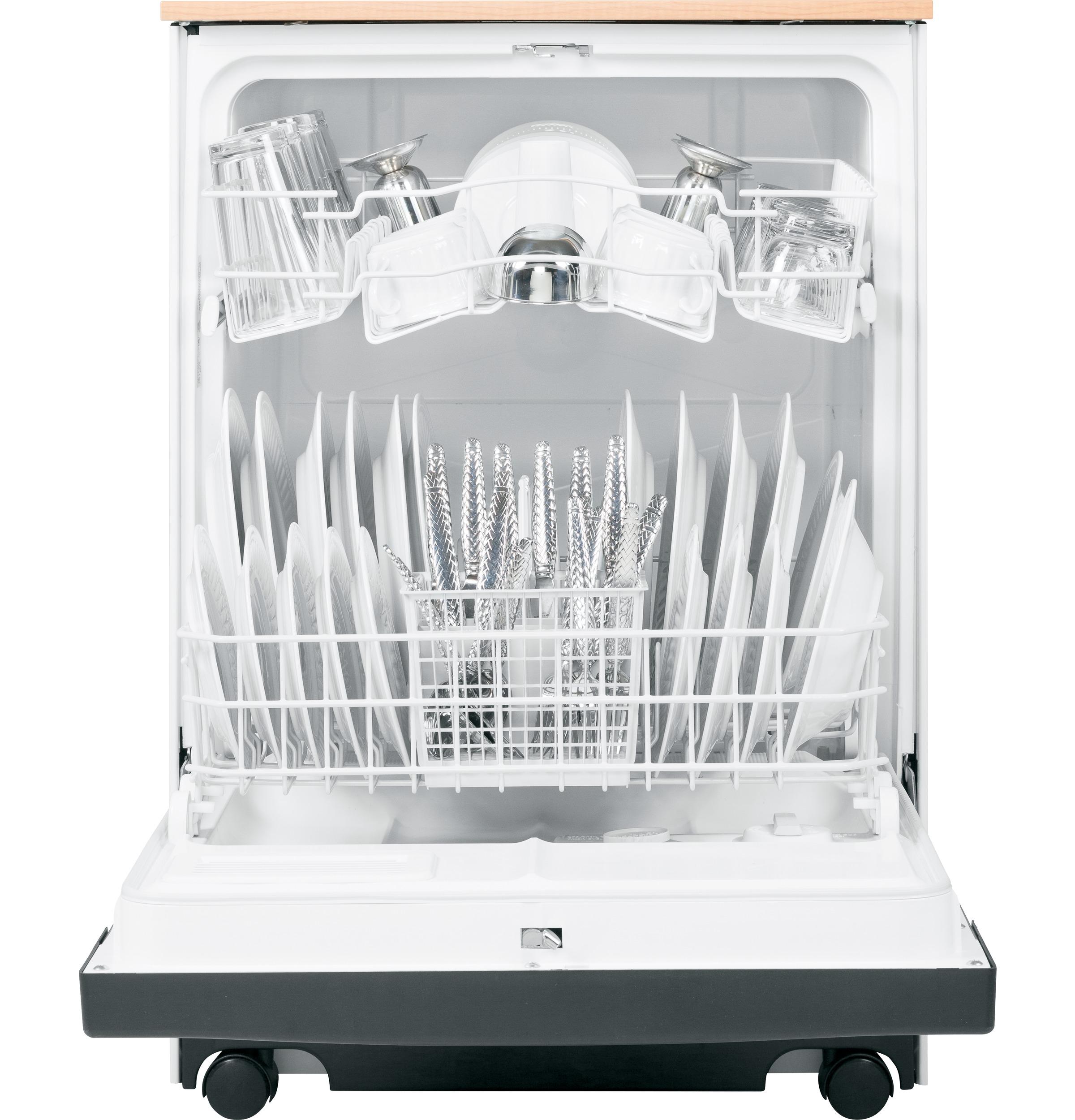 Model: GSC3500DBB | GE GE® Convertible/Portable Dishwasher