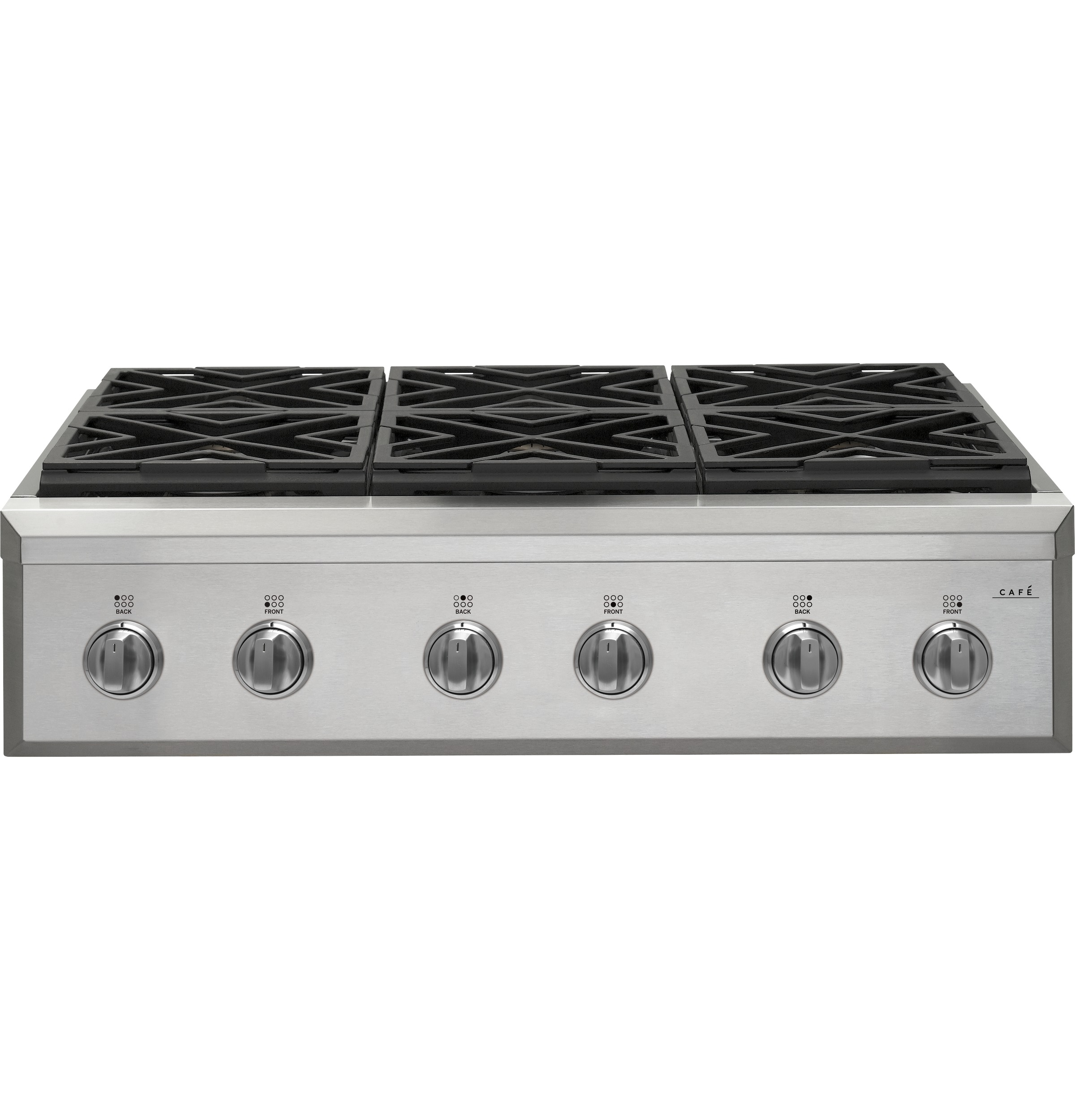 "Model: CGU366P2MS1 | Cafe Café™ 36"" Gas Rangetop"