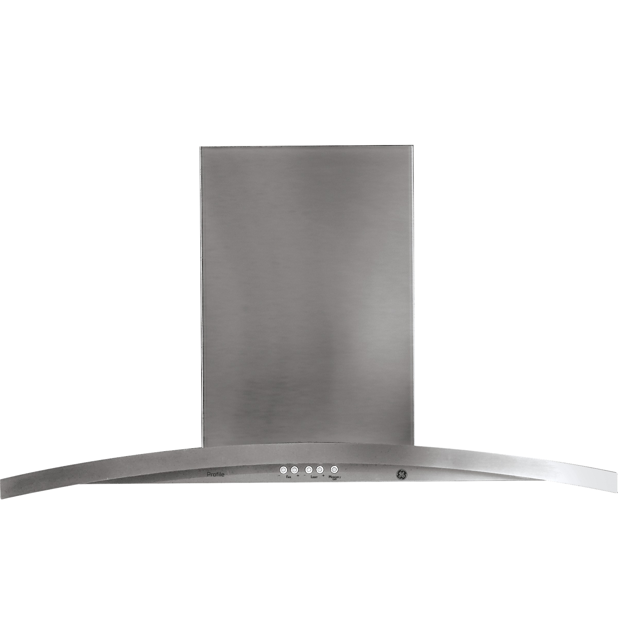 "Profile GE Profile™ 36"" Island-Mount Chimney Hood"