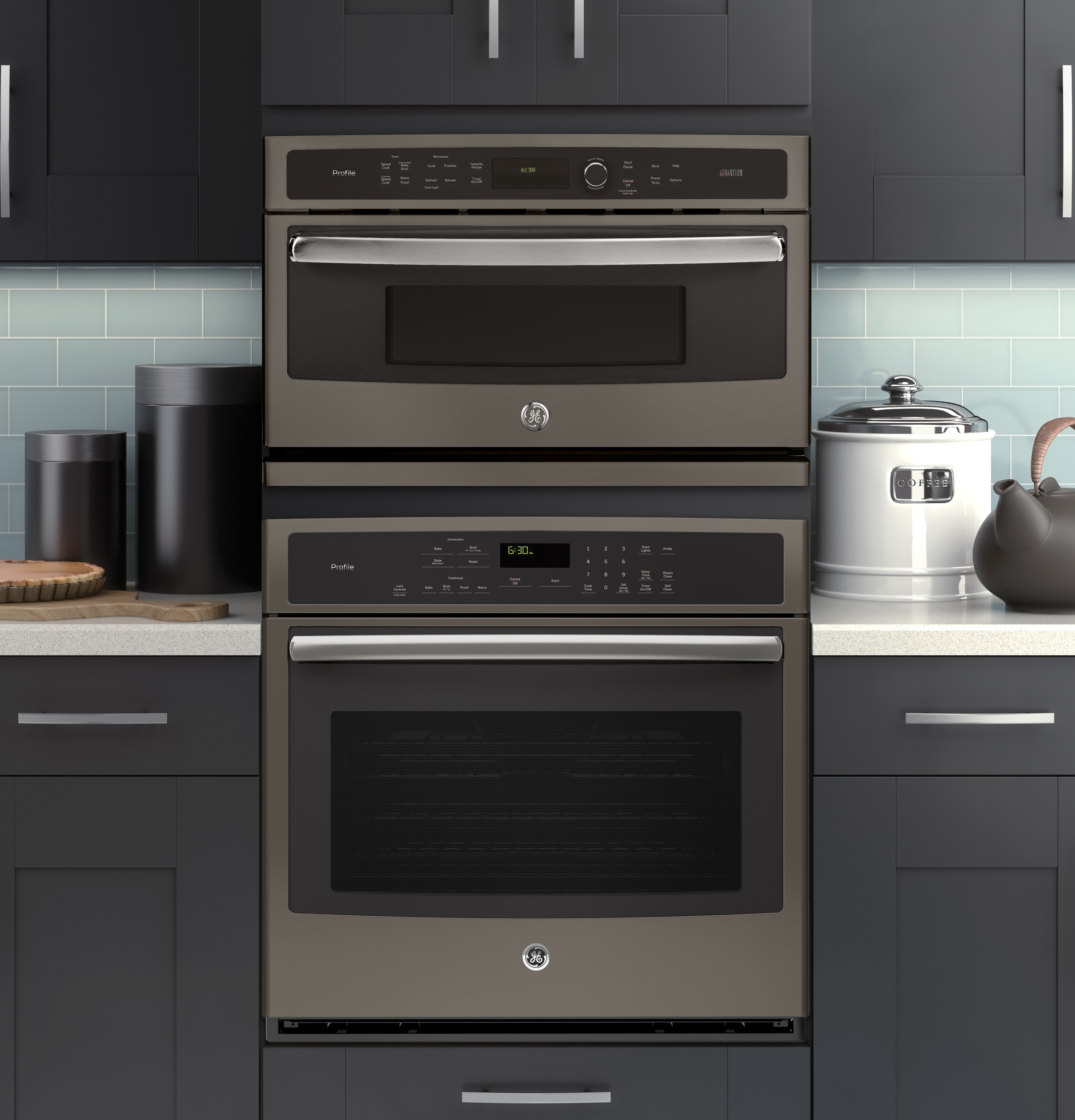 Model: PSB9240EFES | GE Profile™ Series 30 in. Single Wall Oven with Advantium® Technology