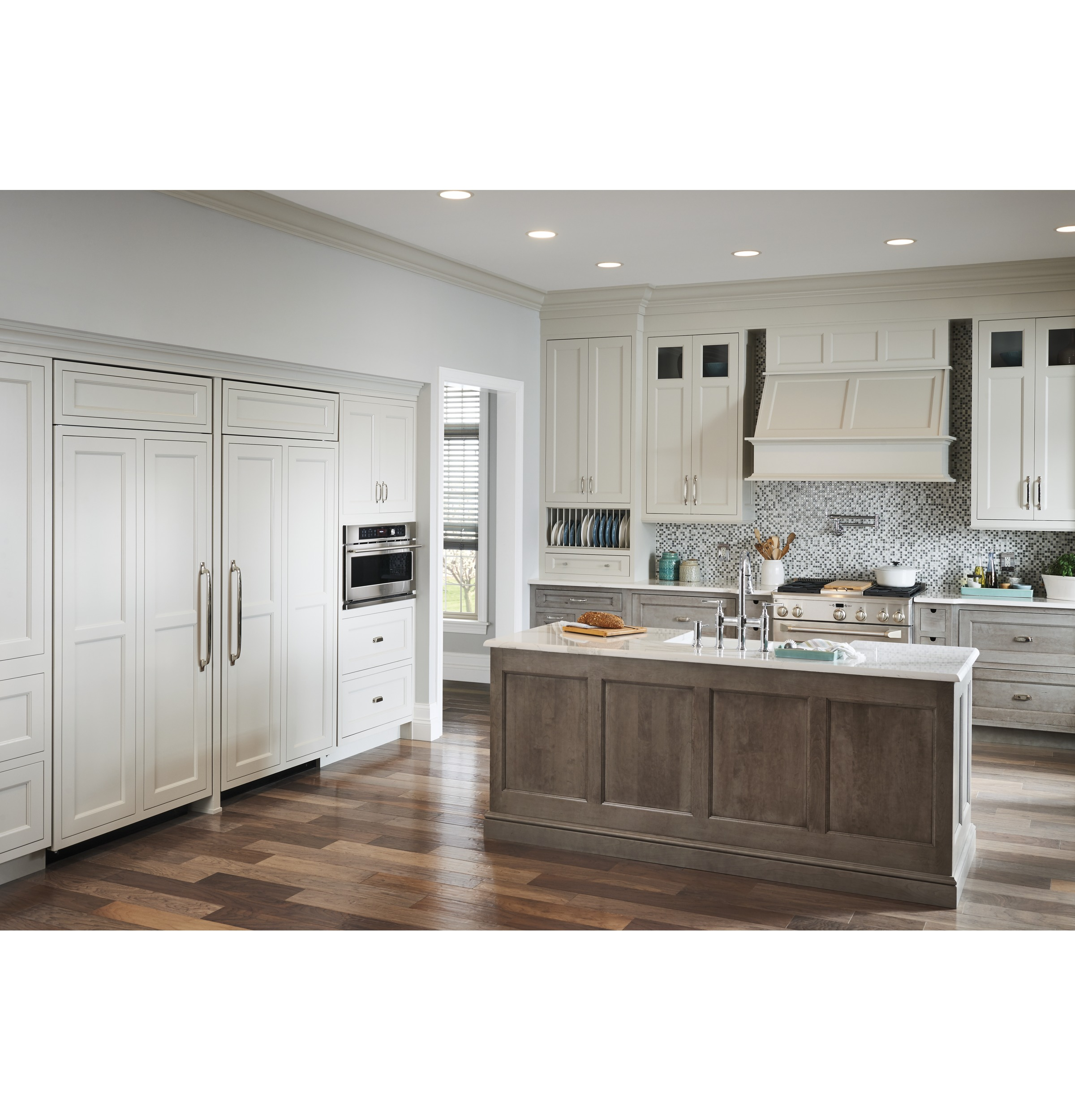 """Model: ZDP364NDPSS   Monogram Monogram 36"""" Dual-Fuel Professional Range with 4 Burners and Griddle (Natural Gas)"""