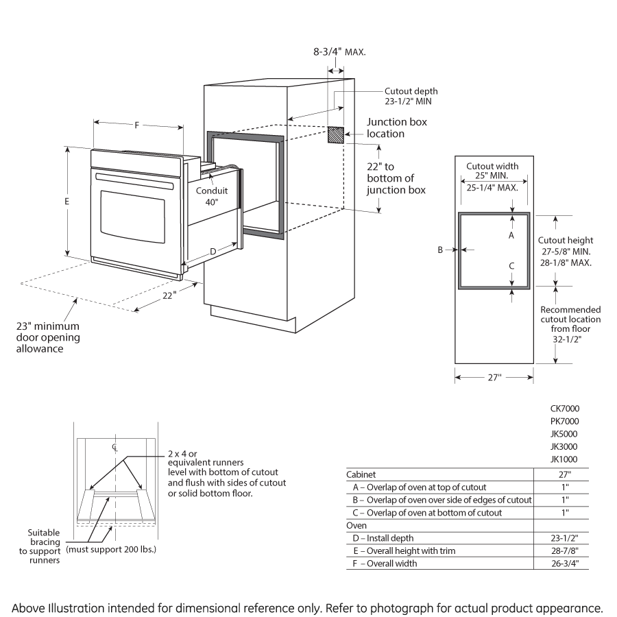 """Model: JK5000SFSS 