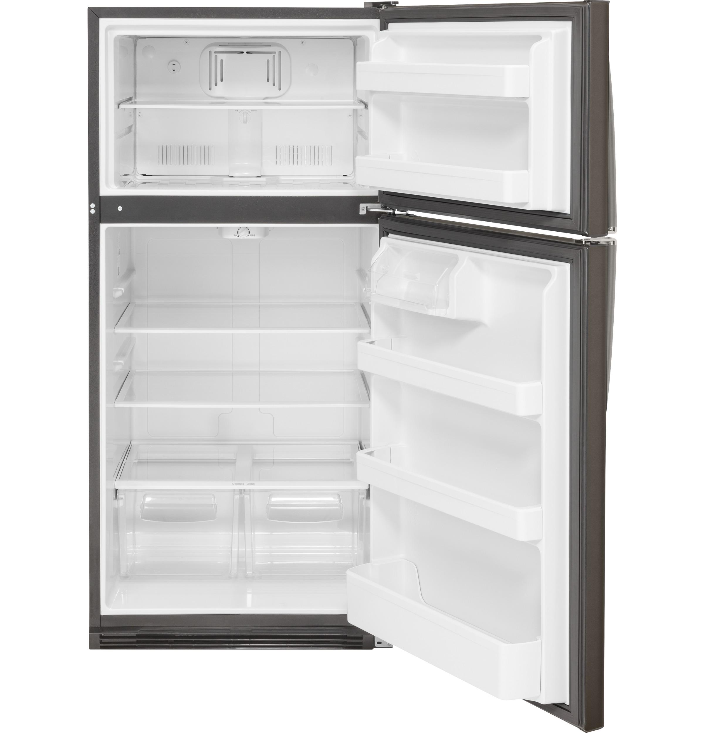 Model: GTS21FMKES | GE GE® 20.8 Cu. Ft. Top-Freezer Refrigerator