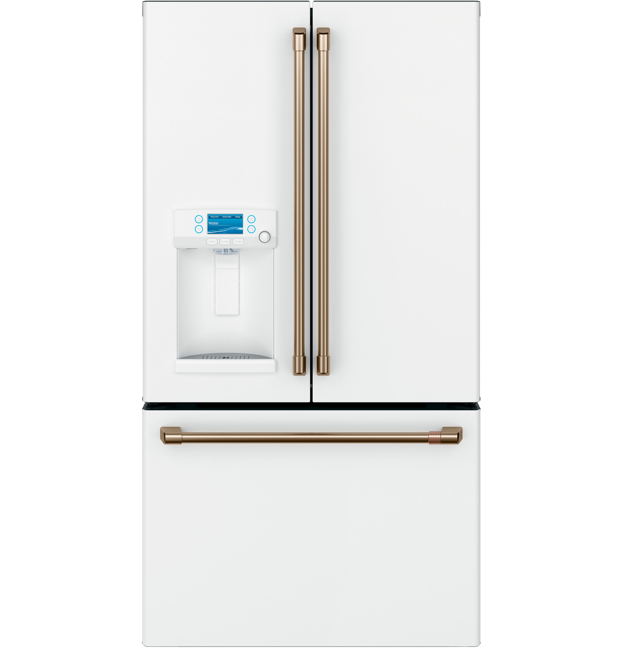 Cafe Café™ ENERGY STAR® 22.2 Cu. Ft. Smart Counter-Depth French-Door Refrigerator with Hot Water Dispenser
