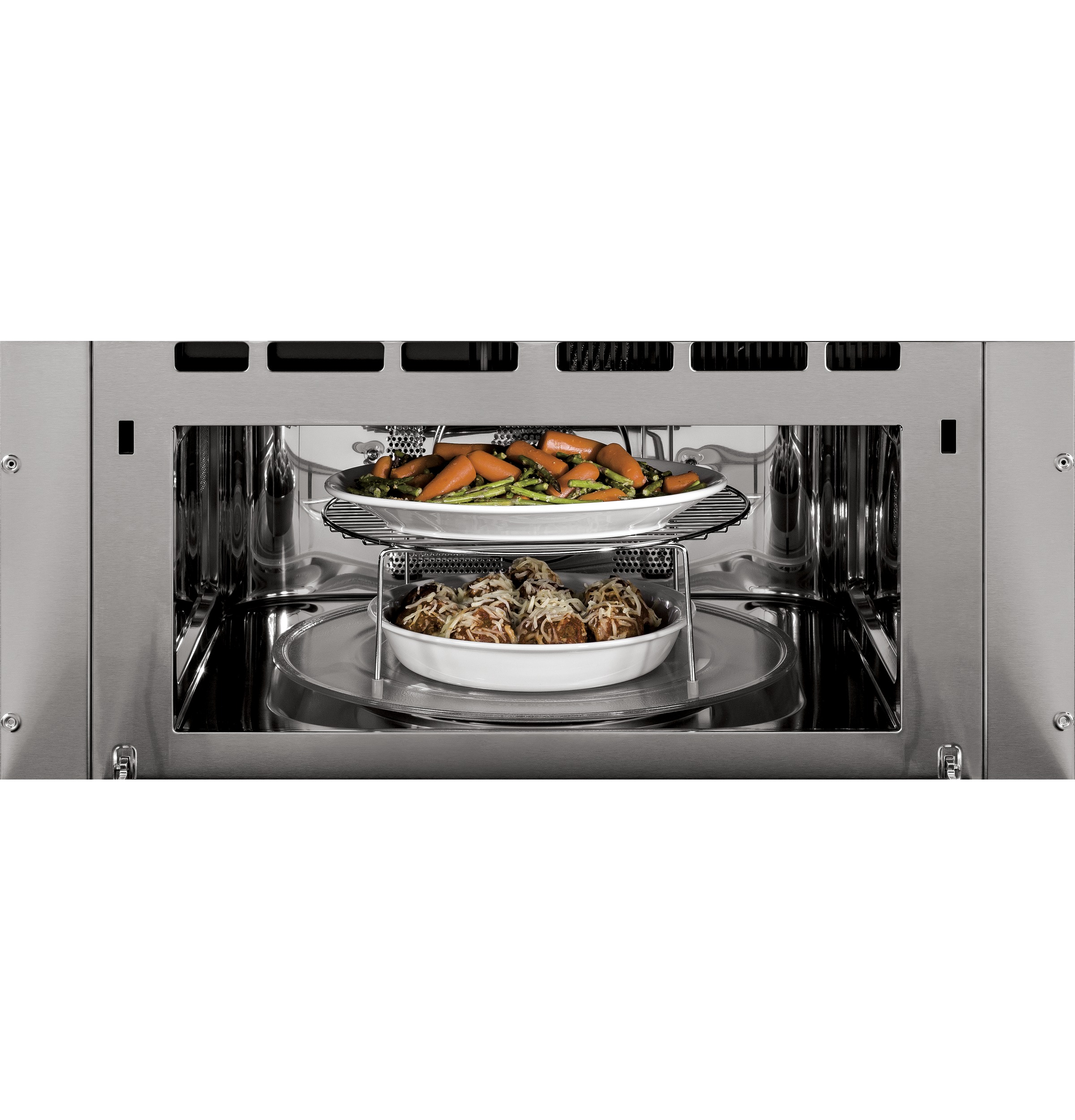 Model: PSB9120BLTS | GE Profile™ Series 30 in. Single Wall Oven with Advantium® Technology