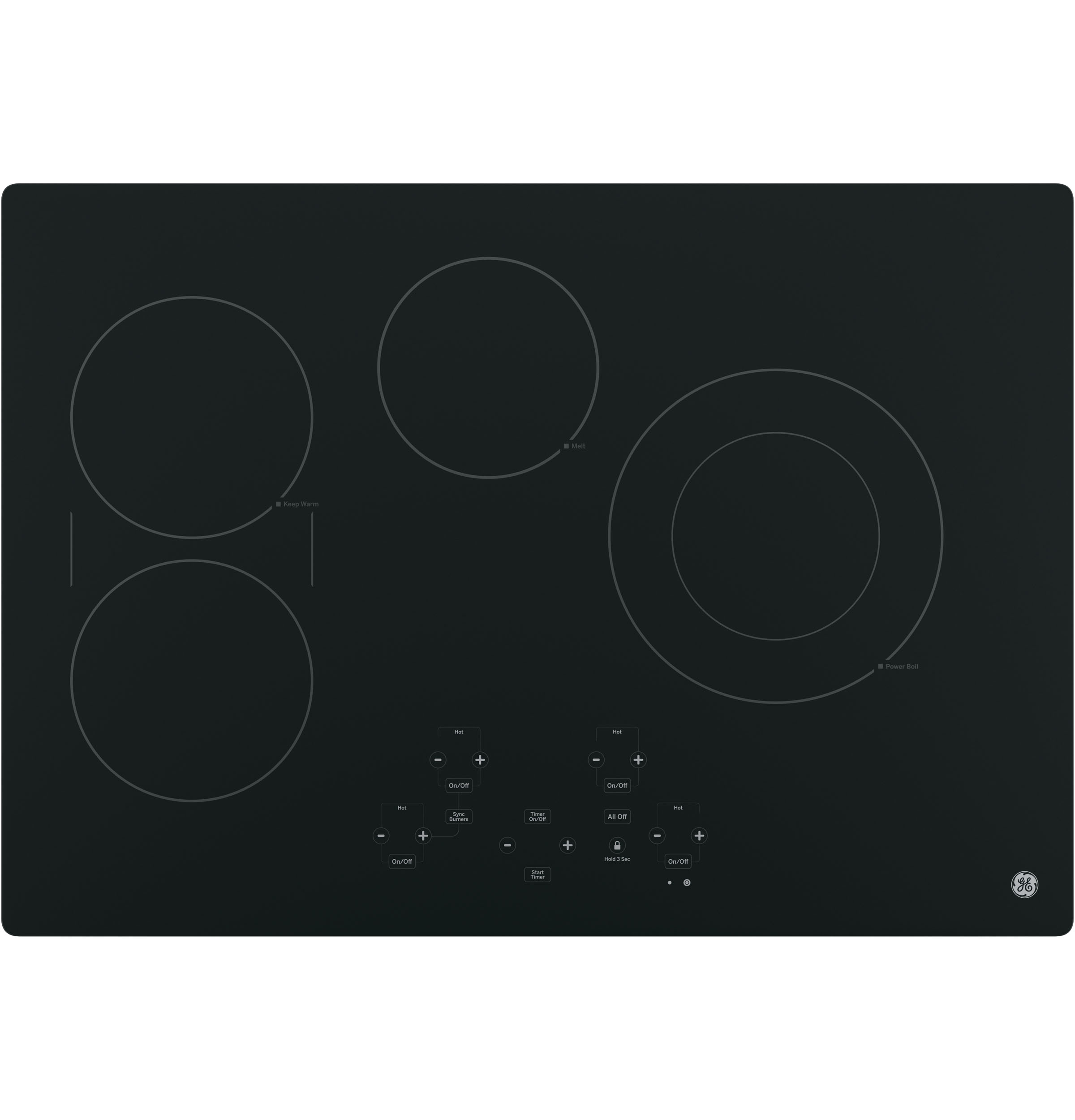 "GE GE® 30"" Built-In Touch Control Electric Cooktop"