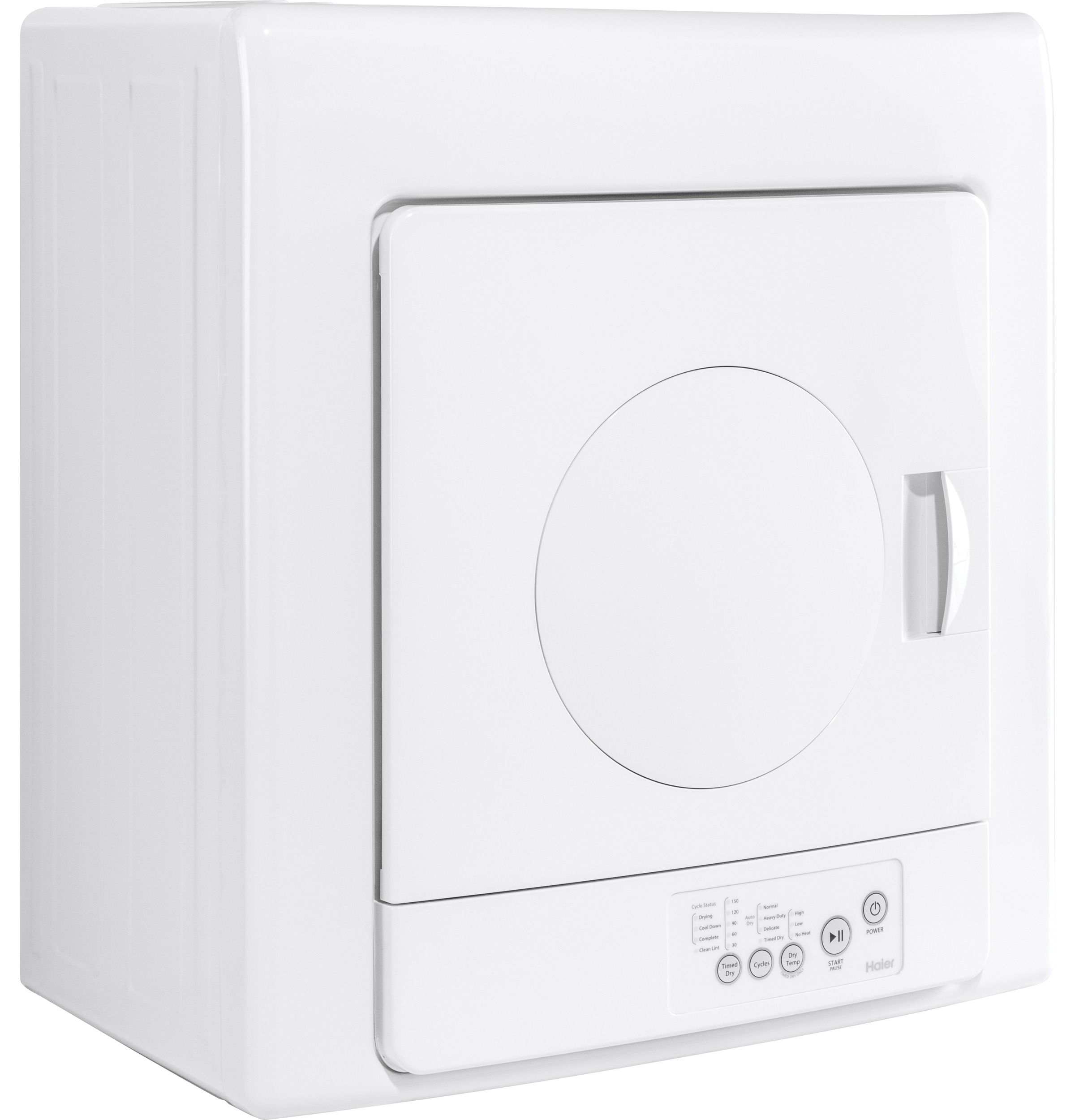 Model: HLP141E   2.6 cu. ft. Portable Electric Vented Dryer