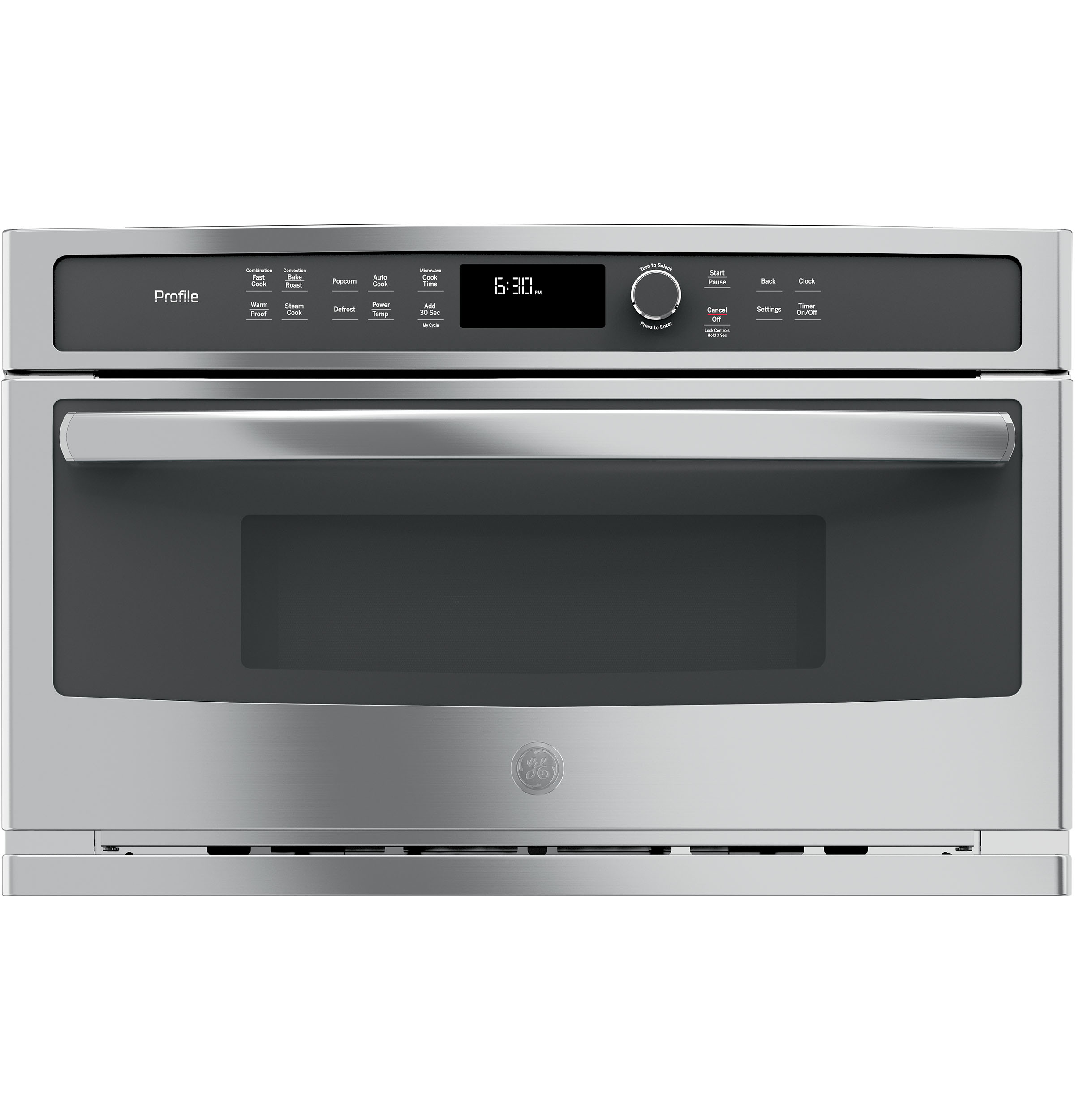 Profile - PWB7030SLSS - GE Profile™ Built-In Microwave ... on