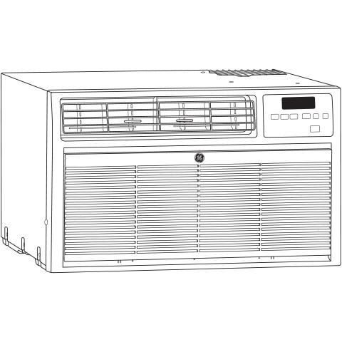 Model: AKCQ10ACA | GE® Built In Air Conditioner