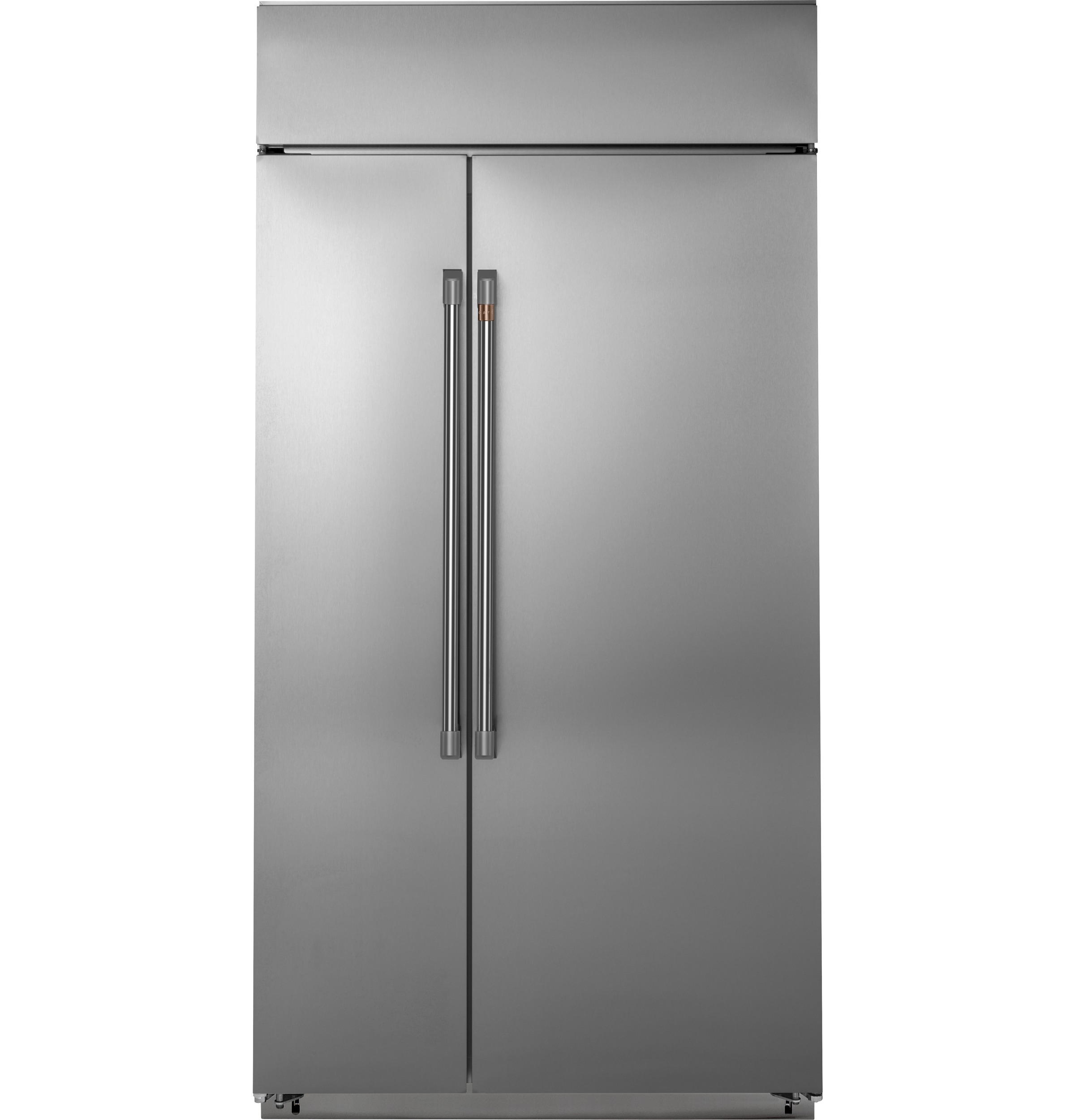 "Cafe Café™ 42"" Built-In Side-by-Side Refrigerator"
