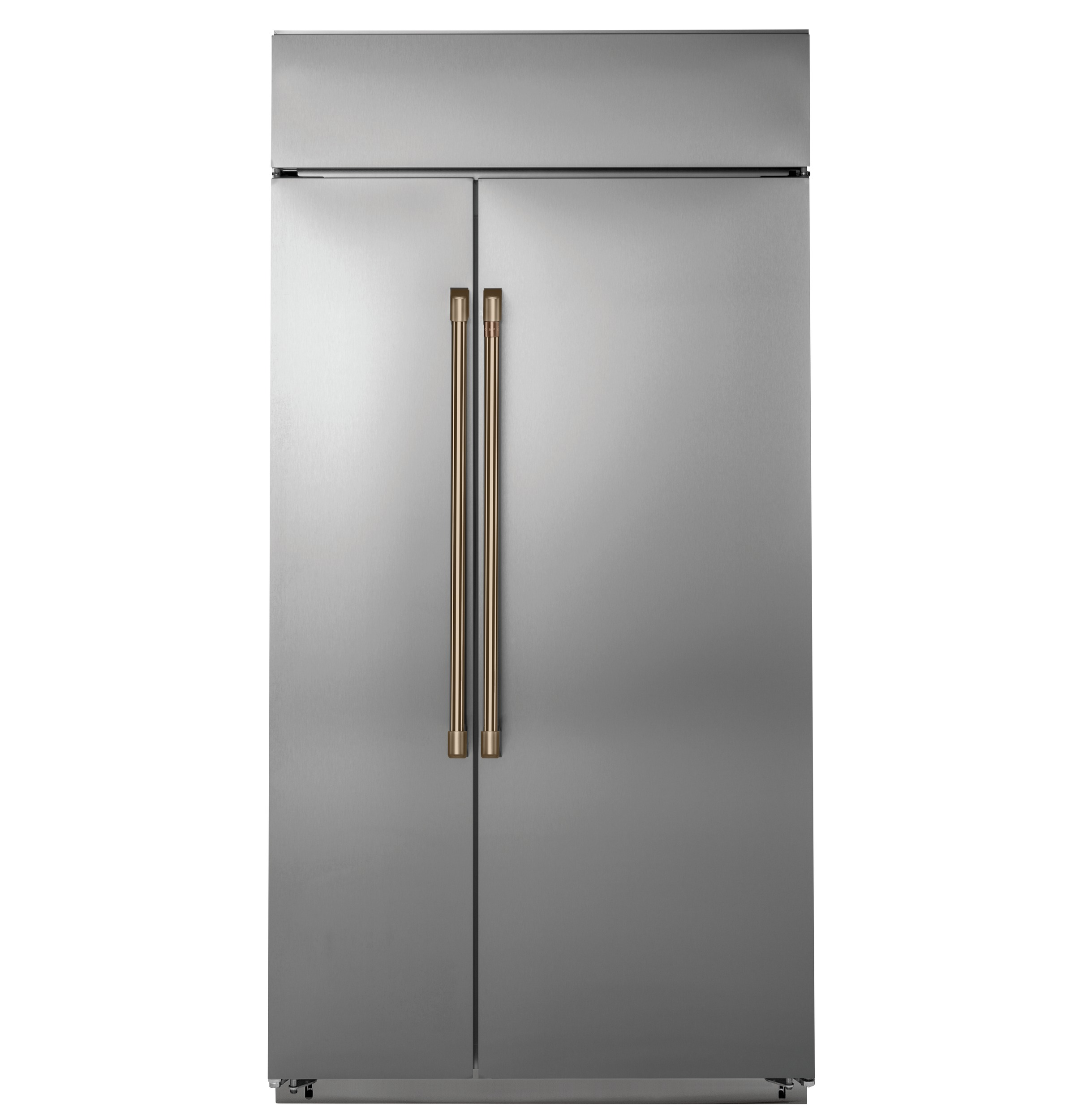 "Model: CSB42WP2NS1 | Cafe Café™ 42"" Smart Built-In Side-by-Side Refrigerator"