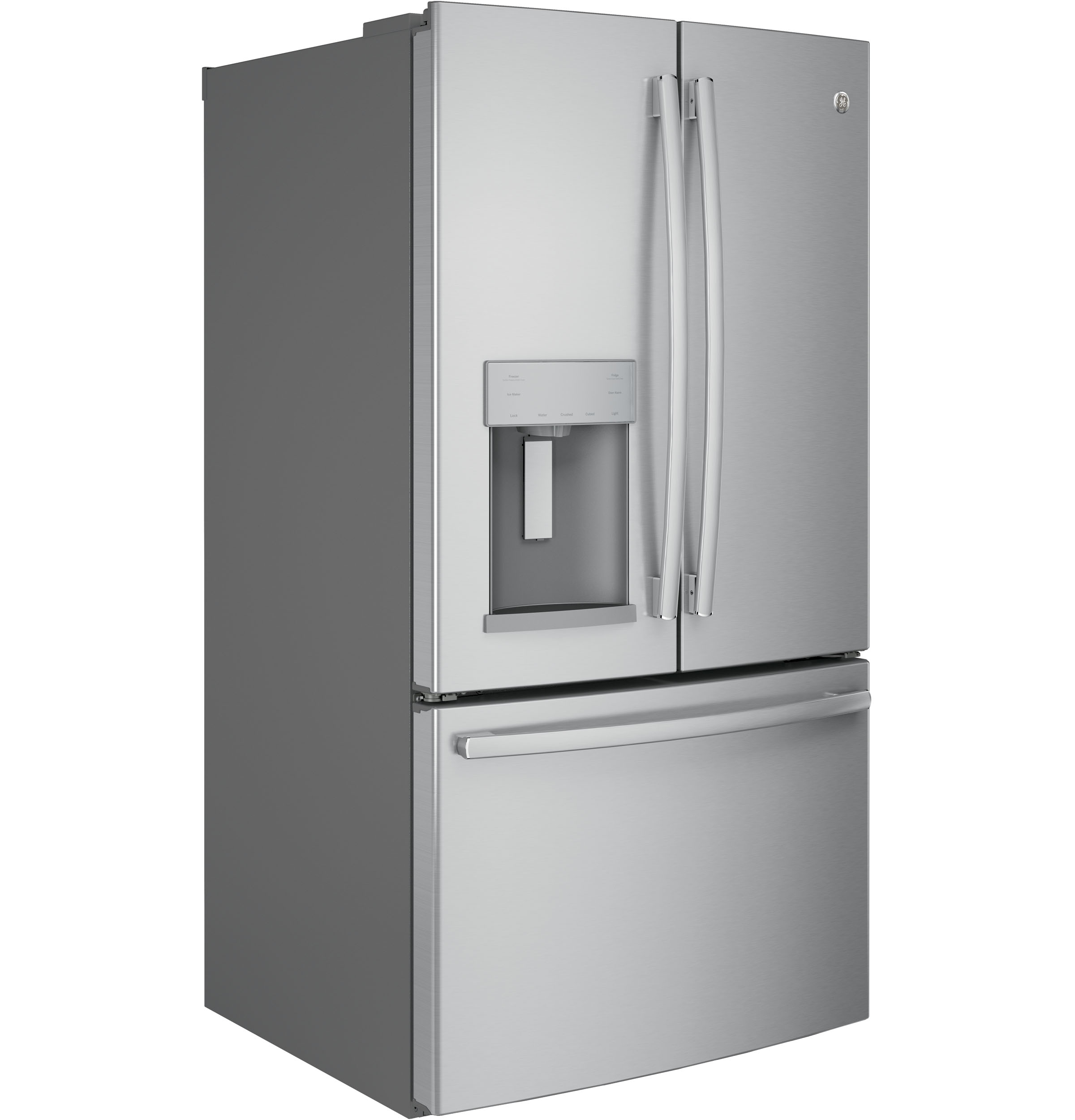 Model: GFE28HSKSS | GE® ENERGY STAR® 27.8 Cu. Ft. French-Door Refrigerator